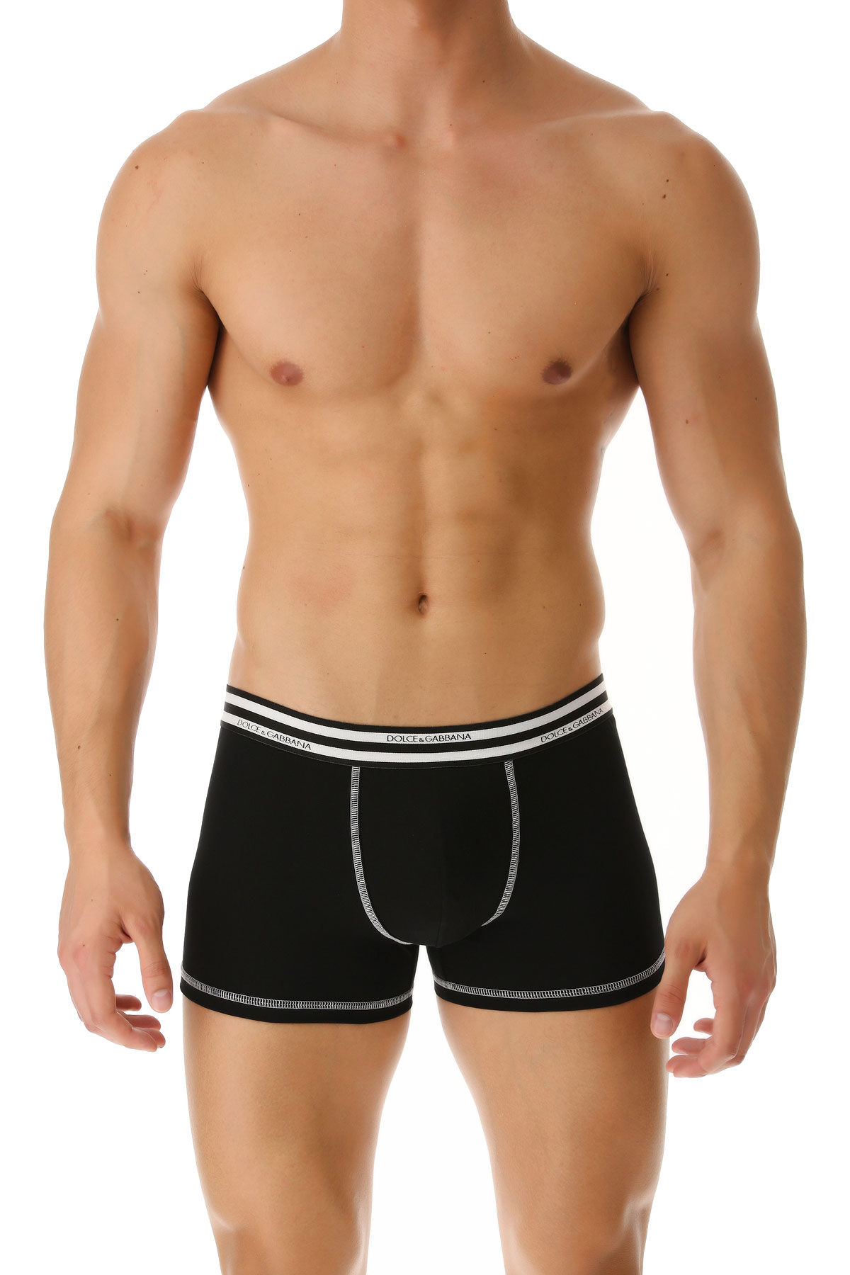 Dolce & Gabbana Boxer Briefs for Men, Boxers, Black, Cotton, 2019, S (IT 3) M (IT 4)