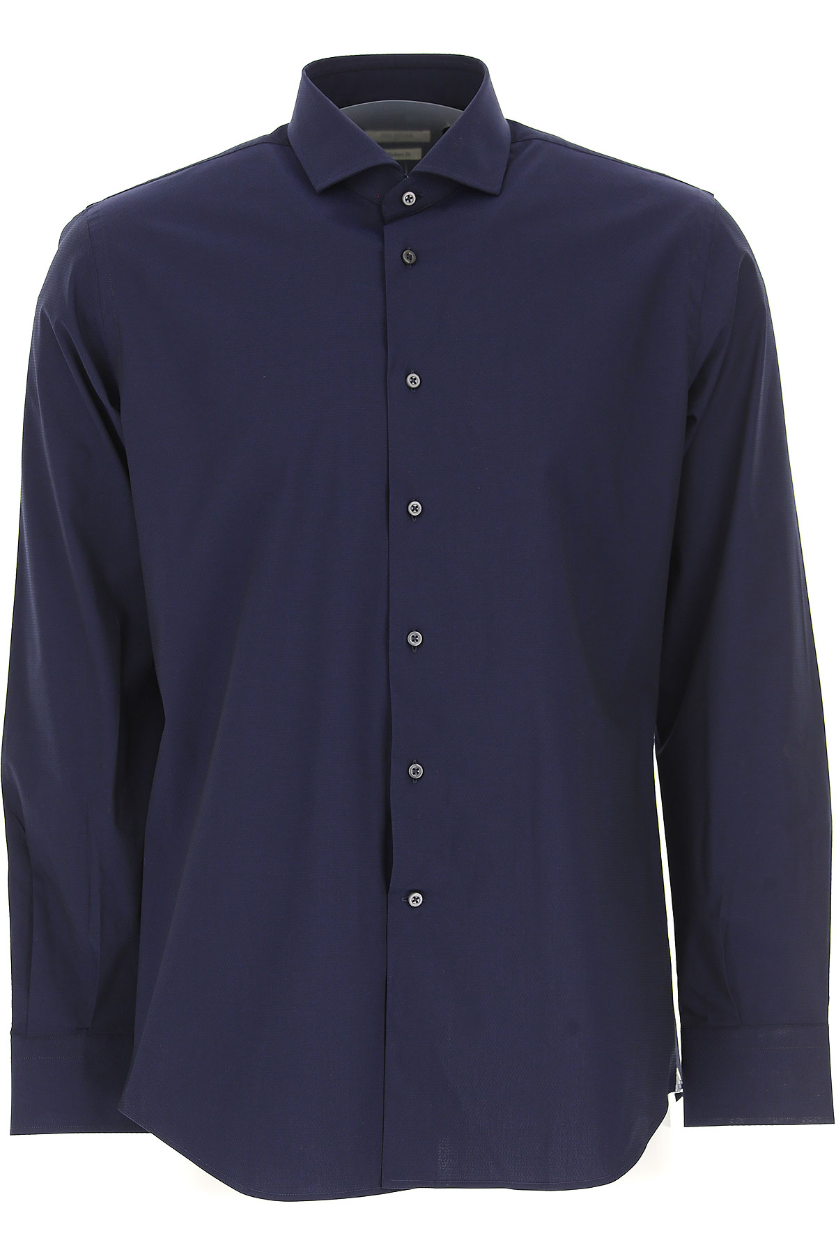 Image of Del Siena Shirt for Men, Midnight, Cotton, 2017, 15.75 16 17 17.5