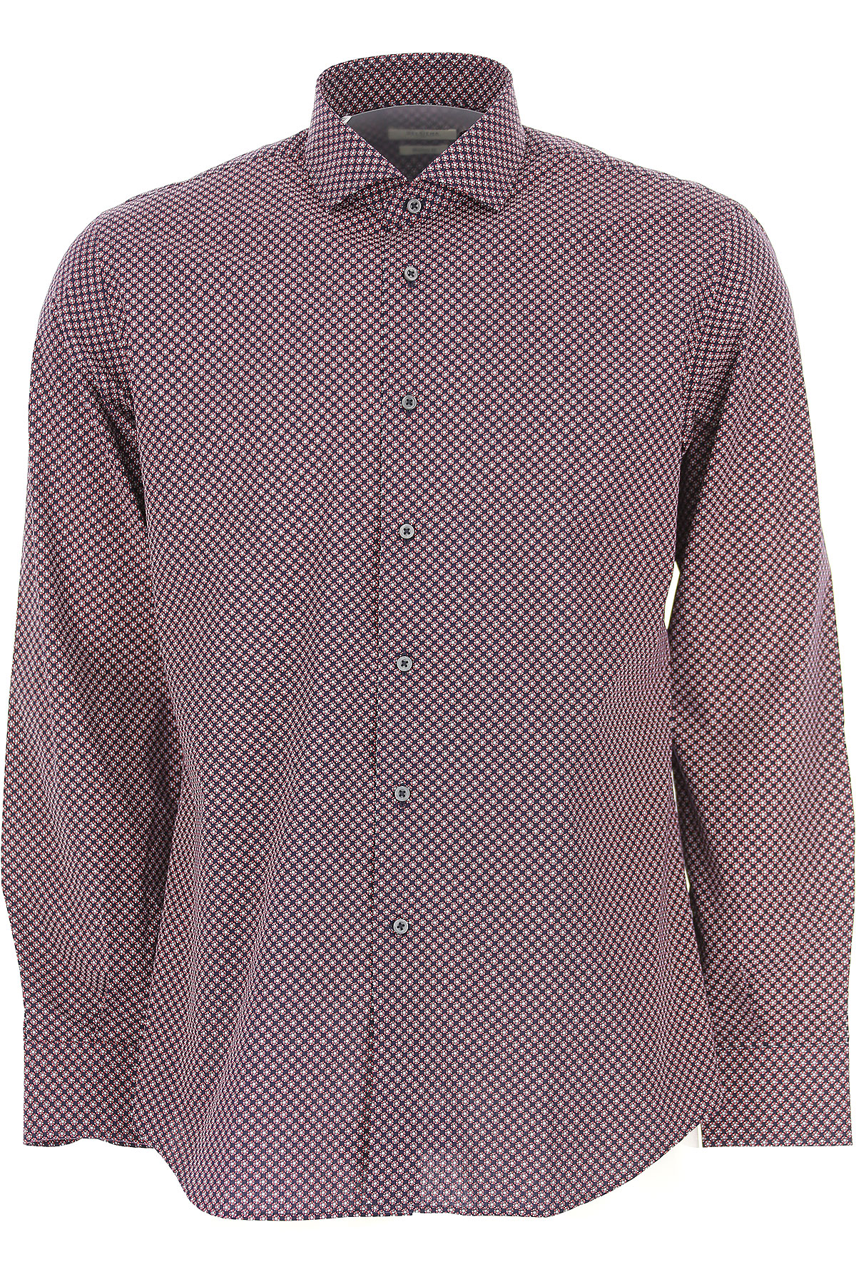 Image of Del Siena Shirt for Men, Midnight, Cotton, 2017, 15.75 16.5 17 17.5