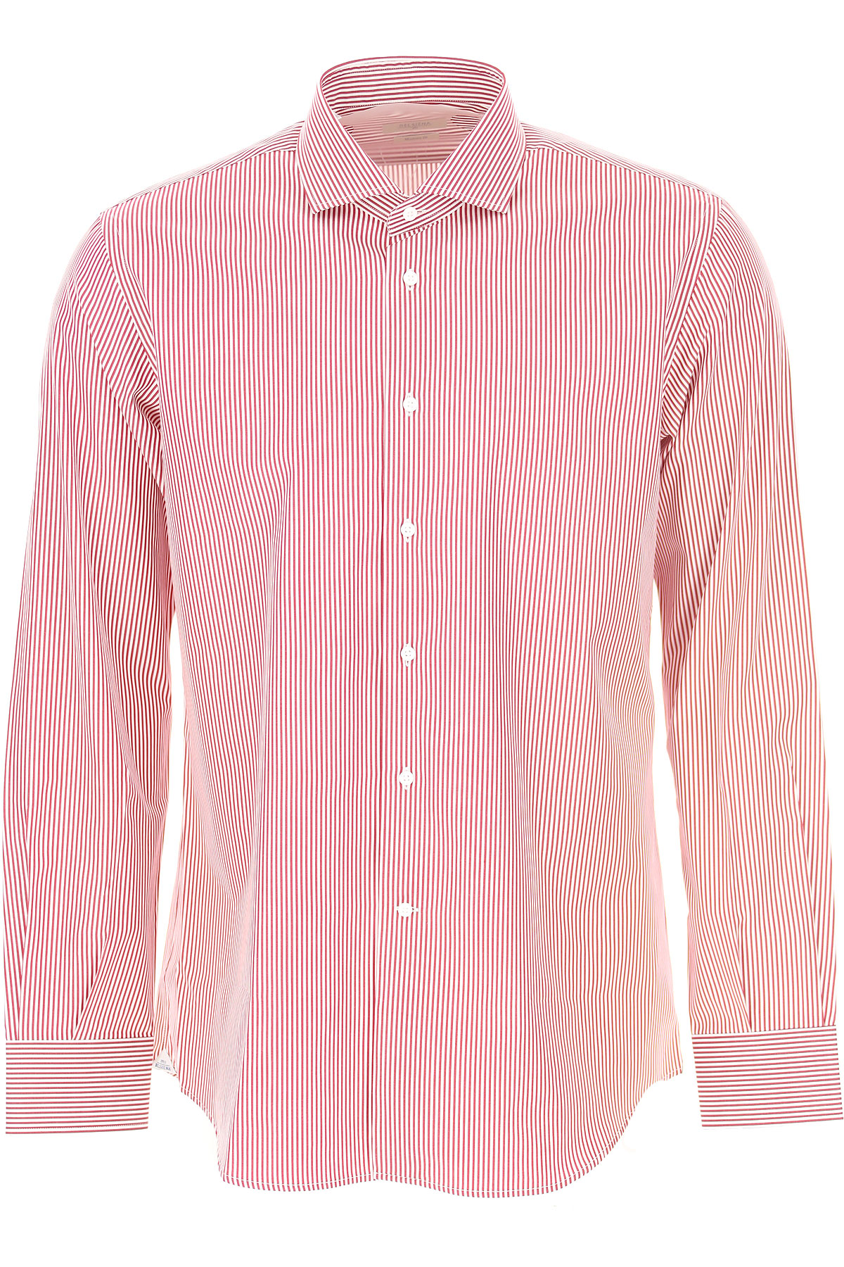 Del Siena Shirt for Men On Sale, Red, Cotton, 2019, 15 15.5 15.75 16 17