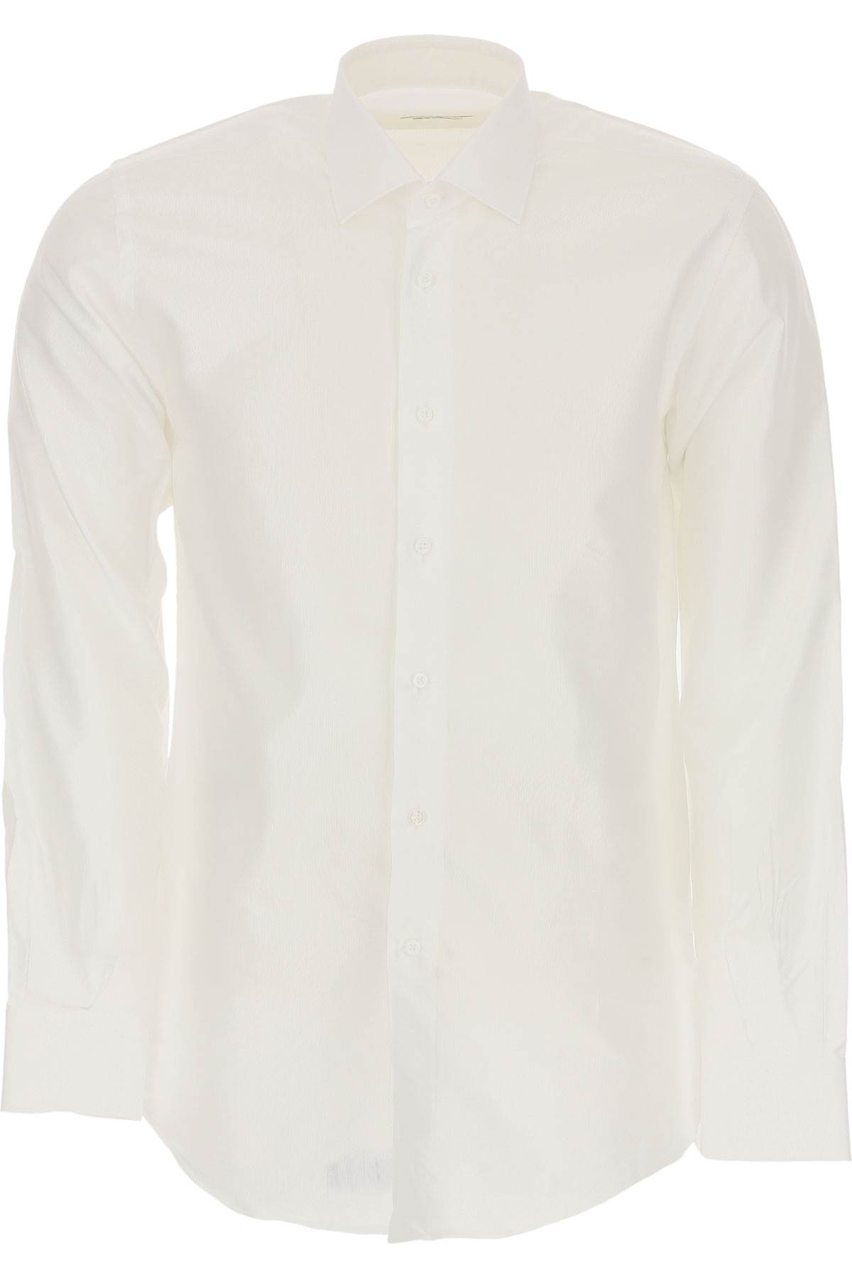 Del Siena Shirt for Men On Sale, White, Cotton, 2019, 15.75 16 17