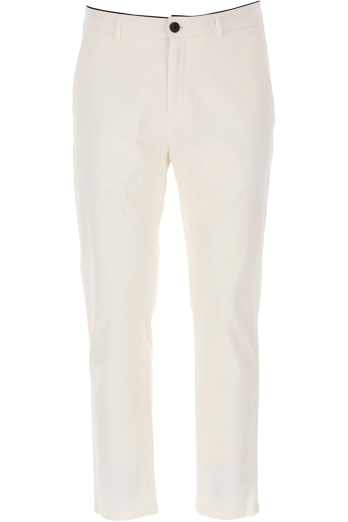 Department Five Pants for Men On Sale, Milk White, Cotton, 2019, 31 33 34 35 36
