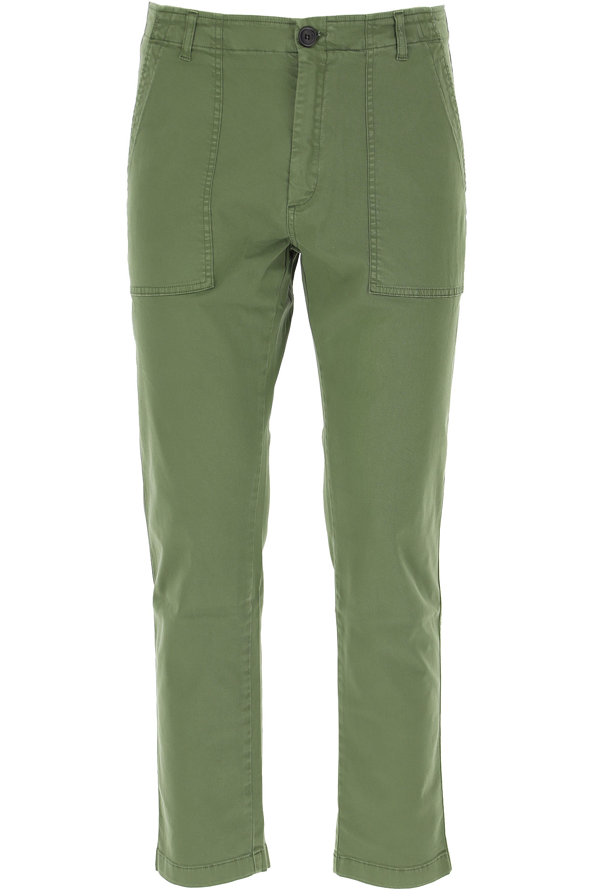 Department Five Pants for Men On Sale, Military Green, Cotton, 2019, 30 33
