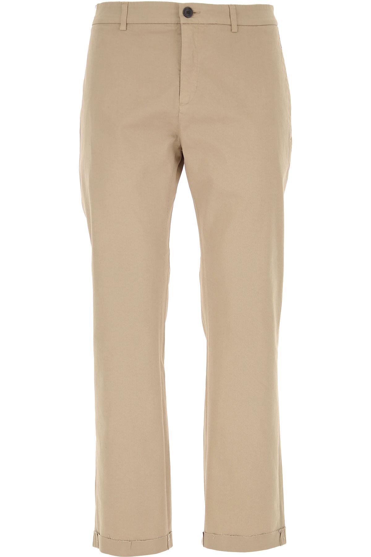 Department Five Pants for Men On Sale, Beige, Cotton, 2019, 31 32 33 34 35 36