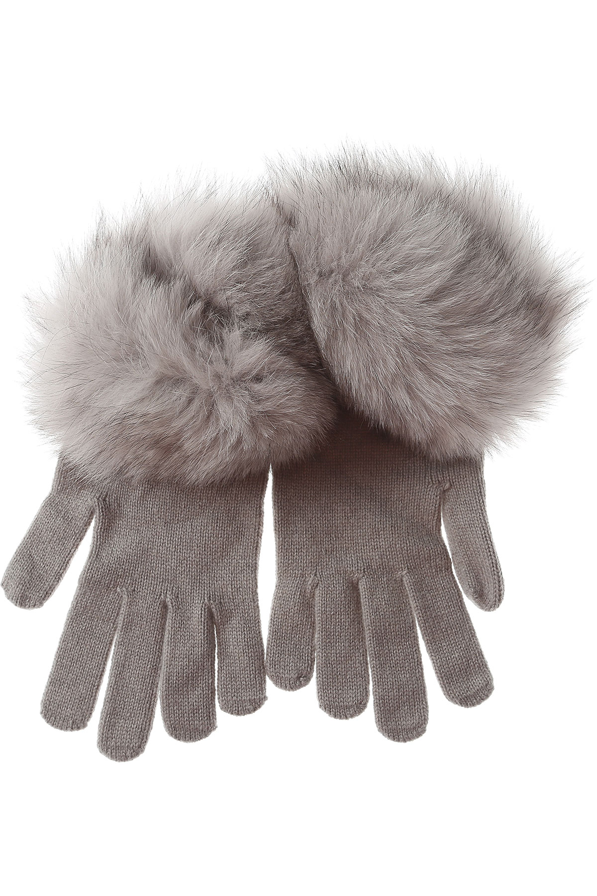 Image of D. Exterior Gloves for Women On Sale in Outlet, fog, Wool, 2017, I II III