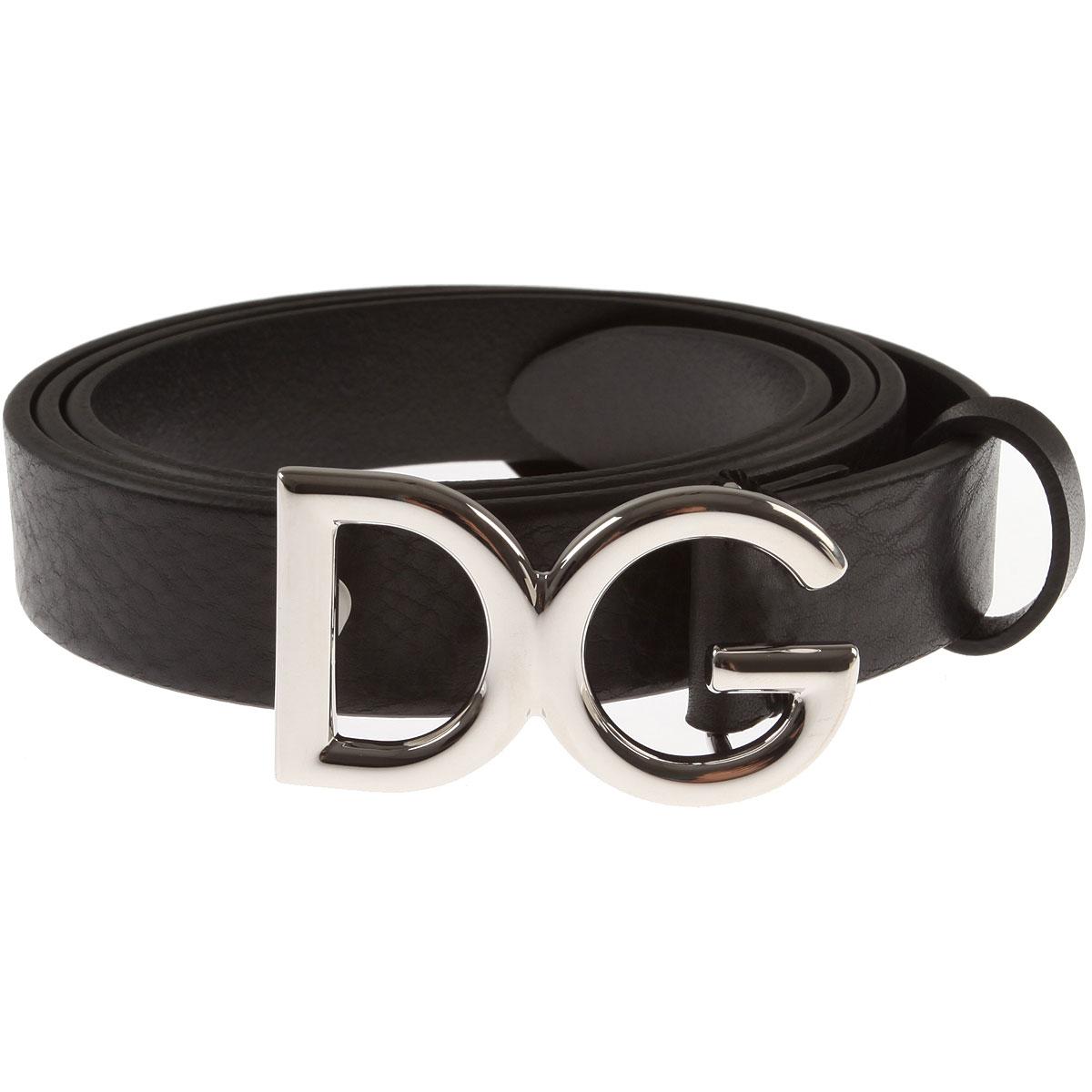 Image of Dolce & Gabbana Belts, Black, Leather, 2017, 40 42 44 48