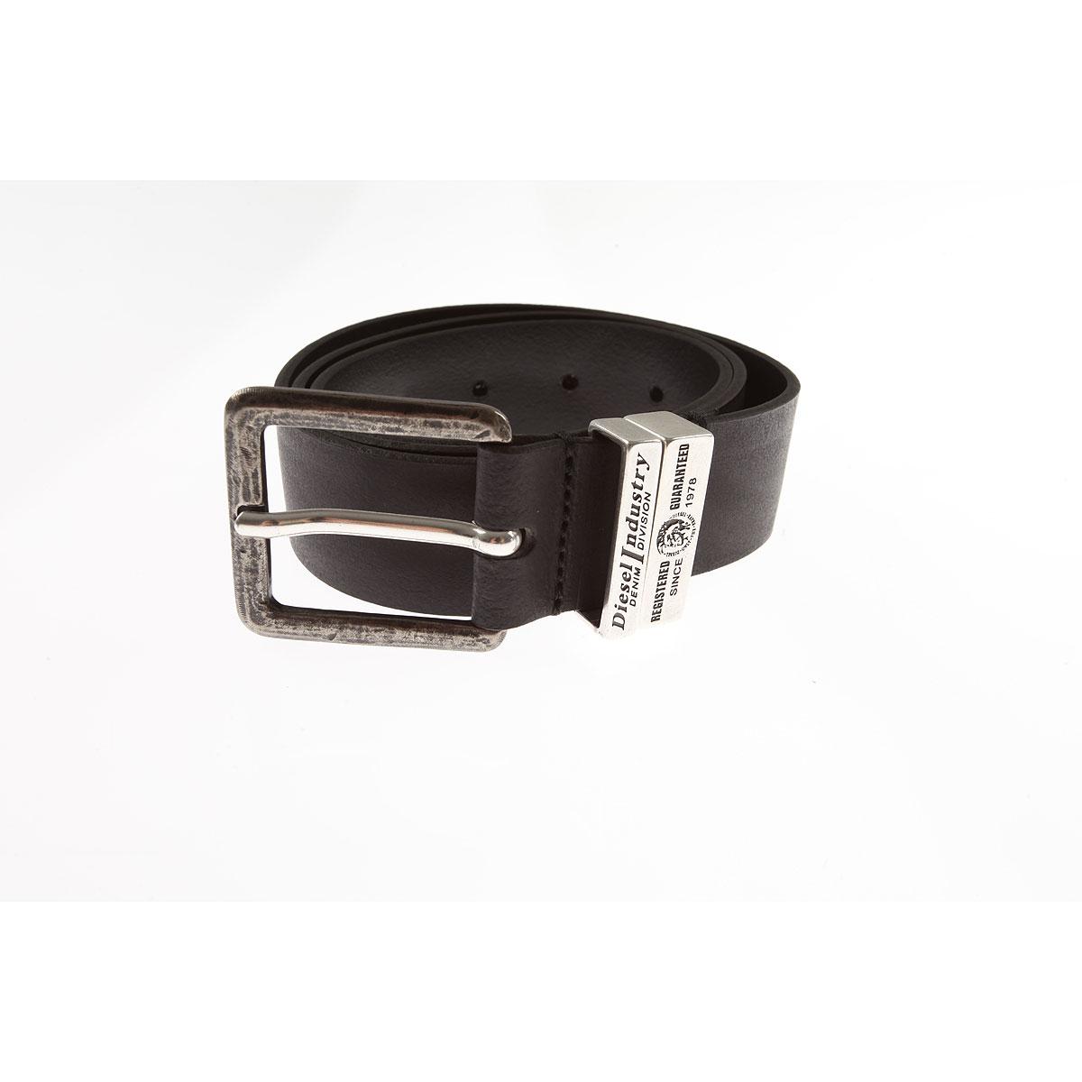 Image of Diesel Belts, Black, Leather, 2017, 36 38 40 42
