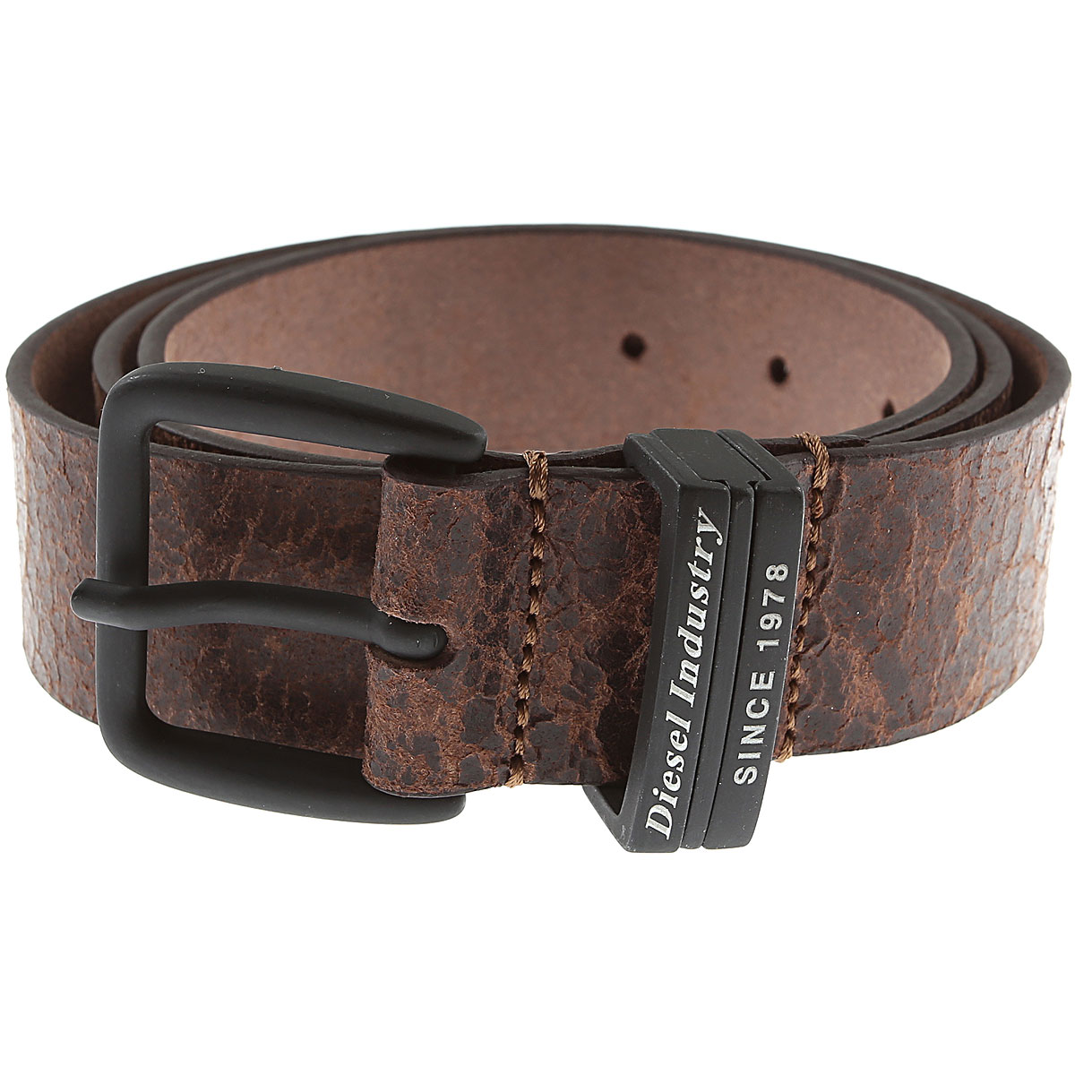 Diesel Belts, Dark Brown, Leather, 2019, 85 90 95