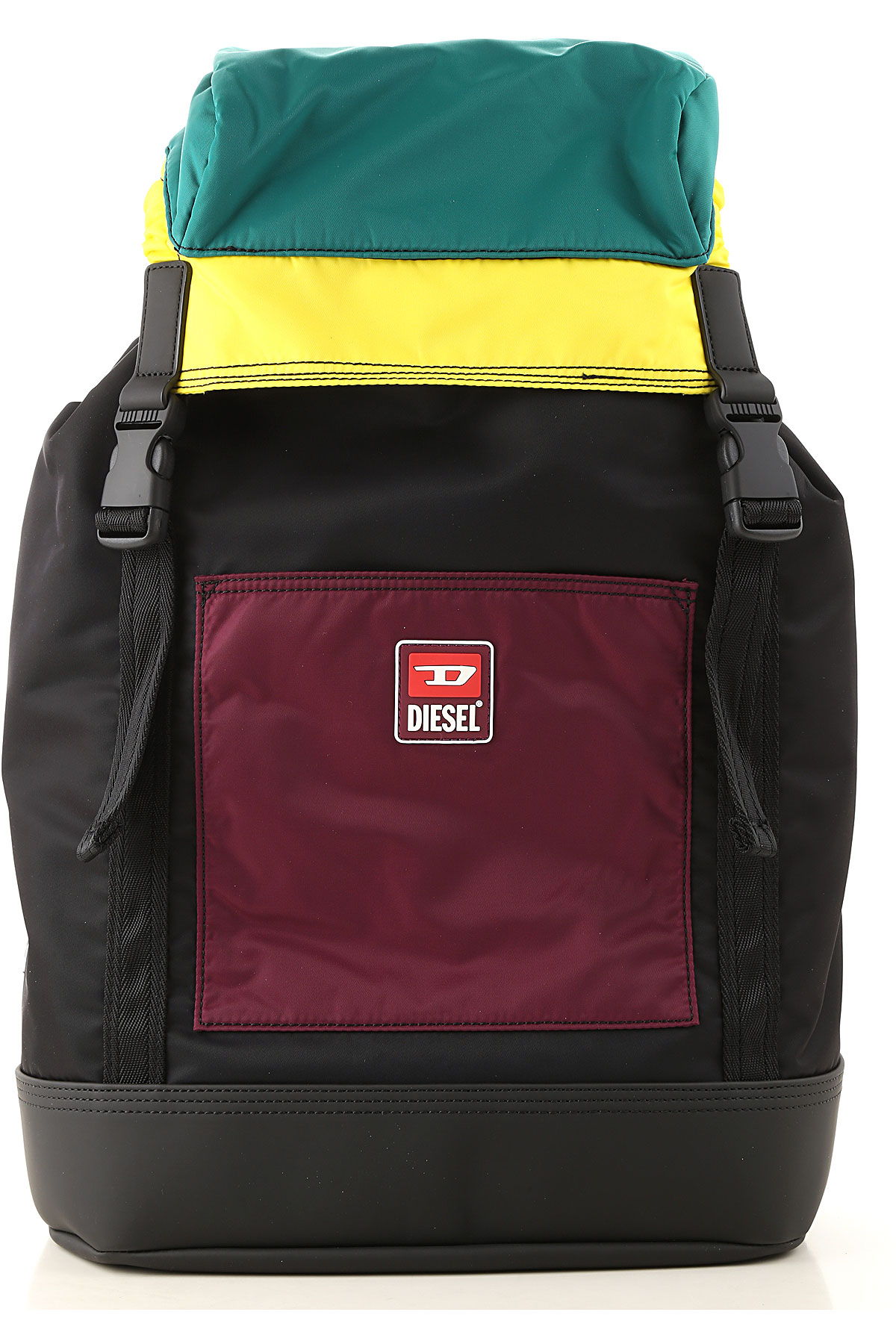 Diesel Backpack for Men On Sale, Multicolor, polyamide, 2019