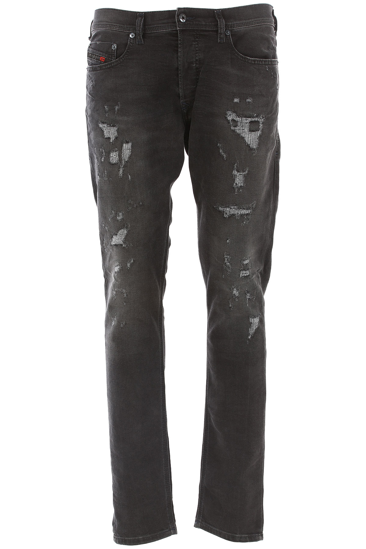 Diesel Jeans On Sale in Outlet, Tepphar, Black, Cotton, 2017, 30 31 32 34 USA-410054