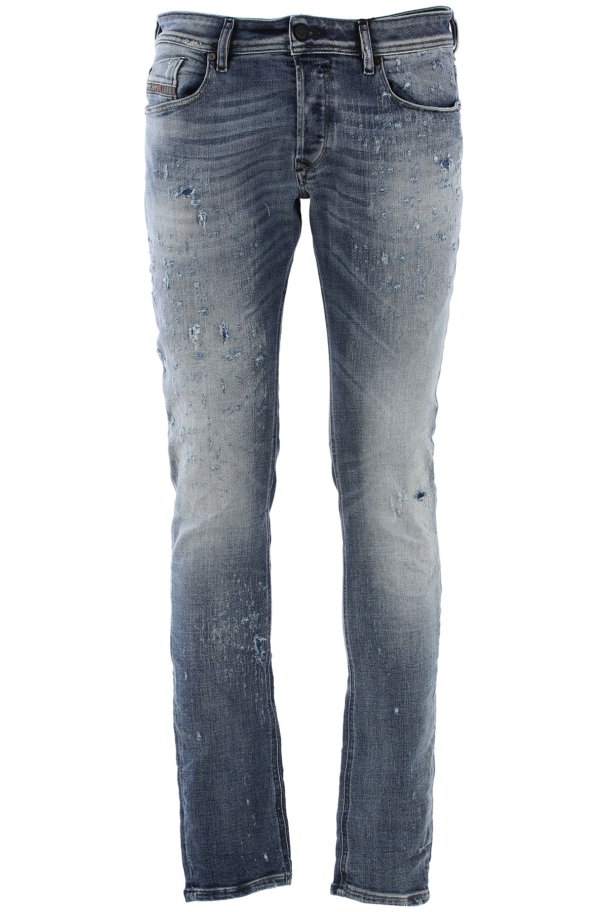 Diesel Jeans On Sale in Outlet, Light Blue, Cotton, 2017, 29 30 32 33 USA-410095