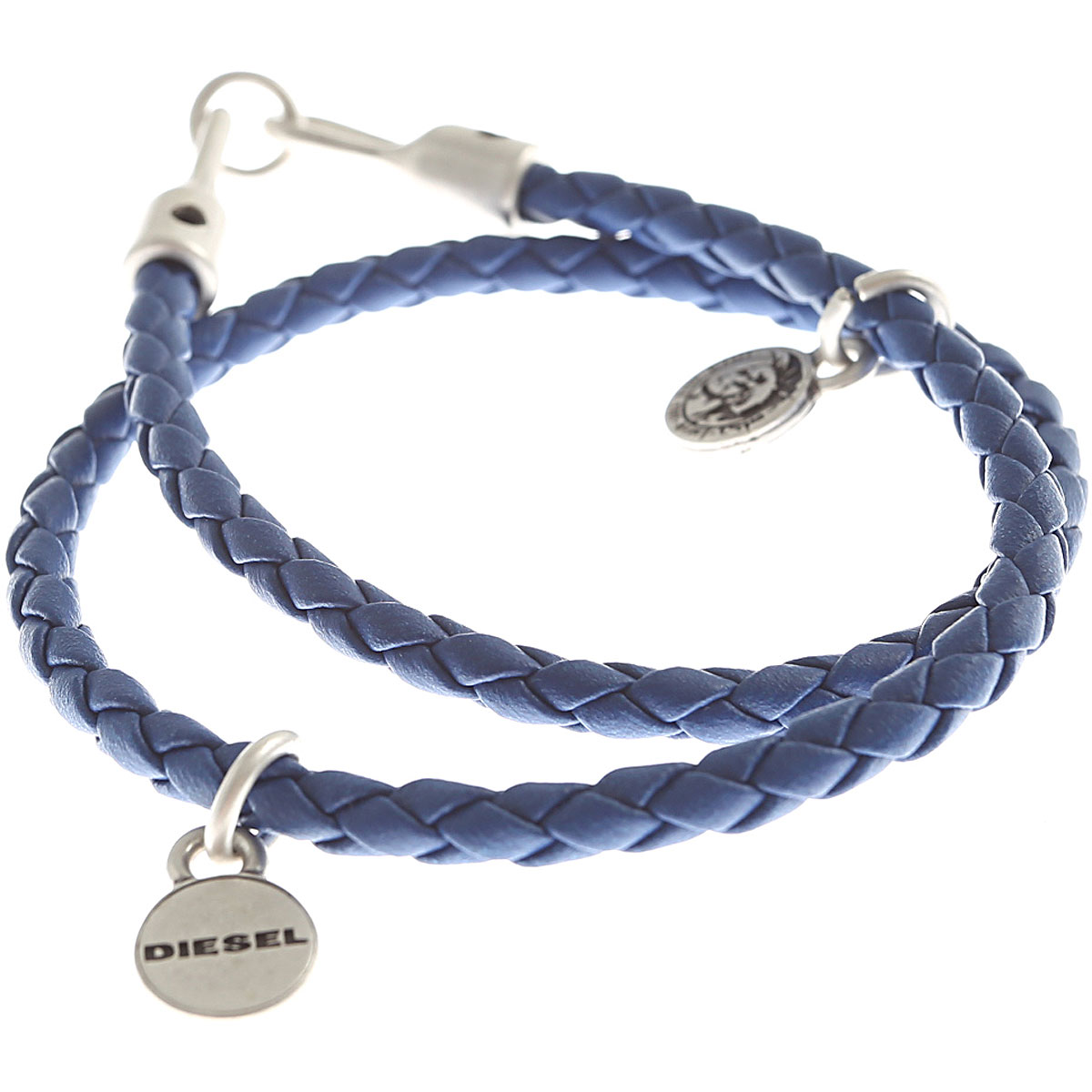 Diesel Bracelet for Men On Sale in Outlet, Bluette, polyurethane, 2019