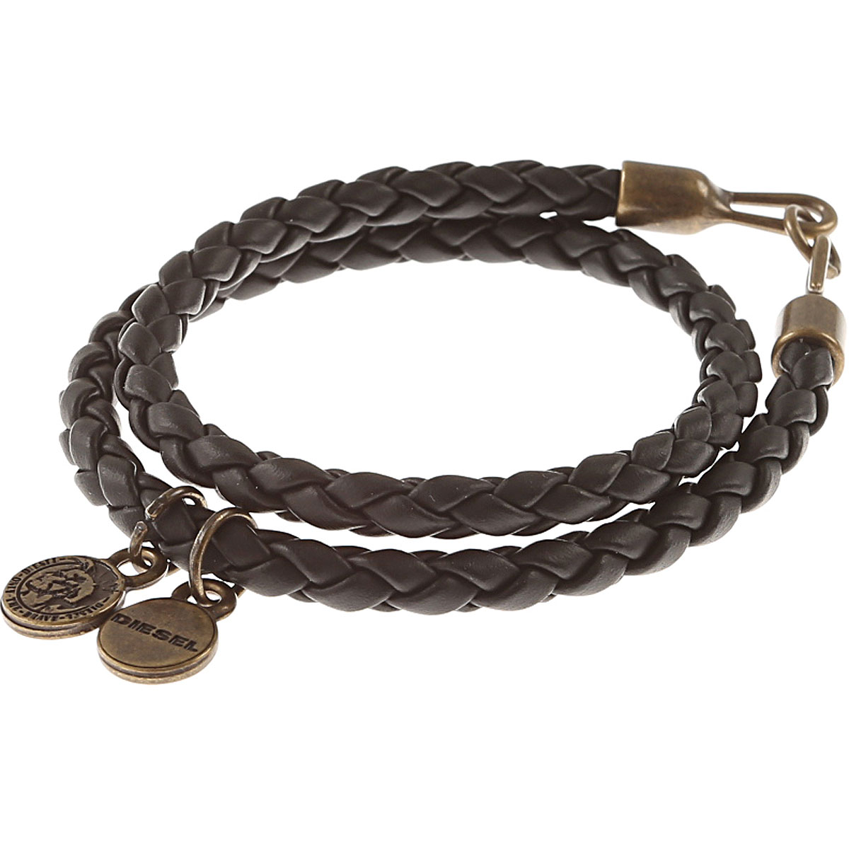 Diesel Bracelet for Men On Sale in Outlet, Black, polyurethane, 2019