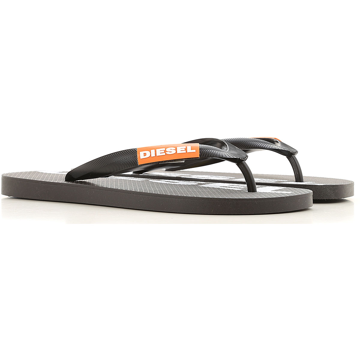 Diesel Flip Flops for Men On Sale, Black, PVC, 2019, 10.5 12 7.5 9