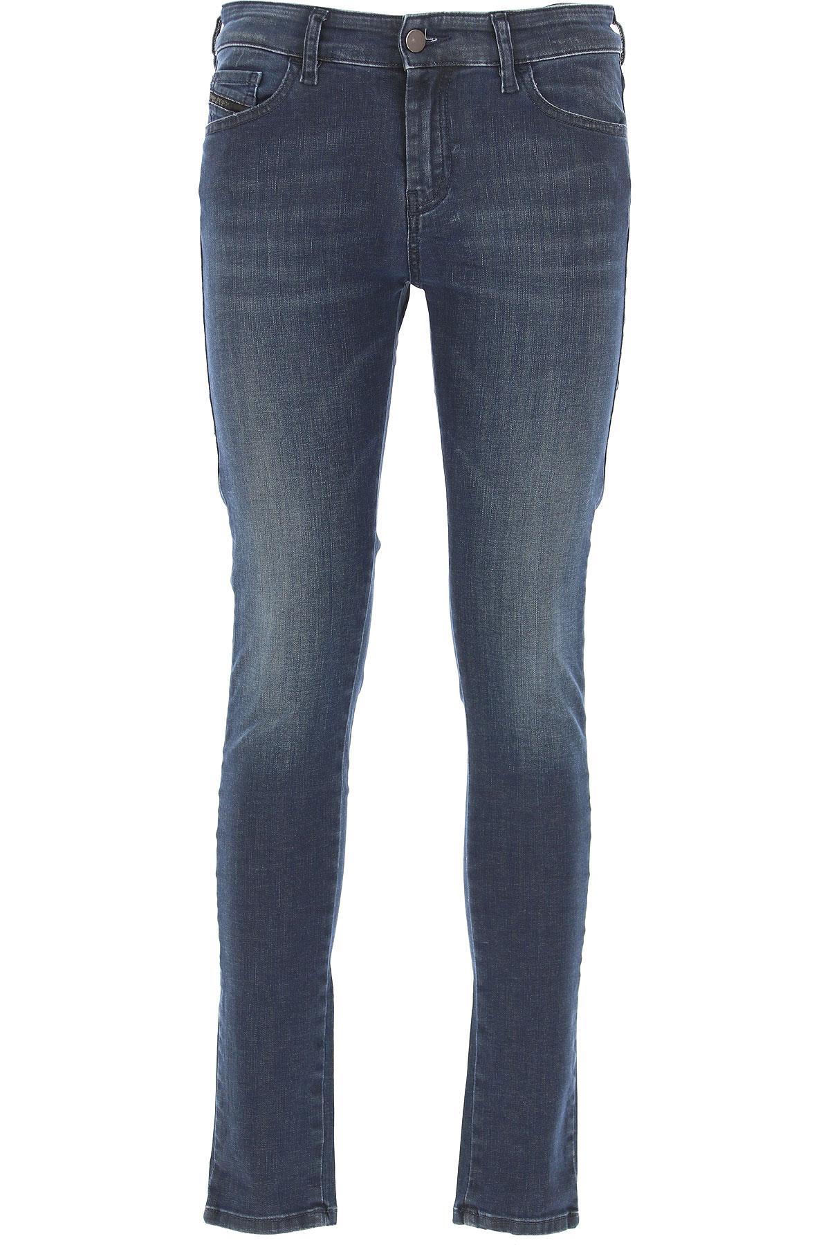 Diesel Jeans On Sale, Dark Blue, Cotton, 2017, 26 27 28 29 30 31 32