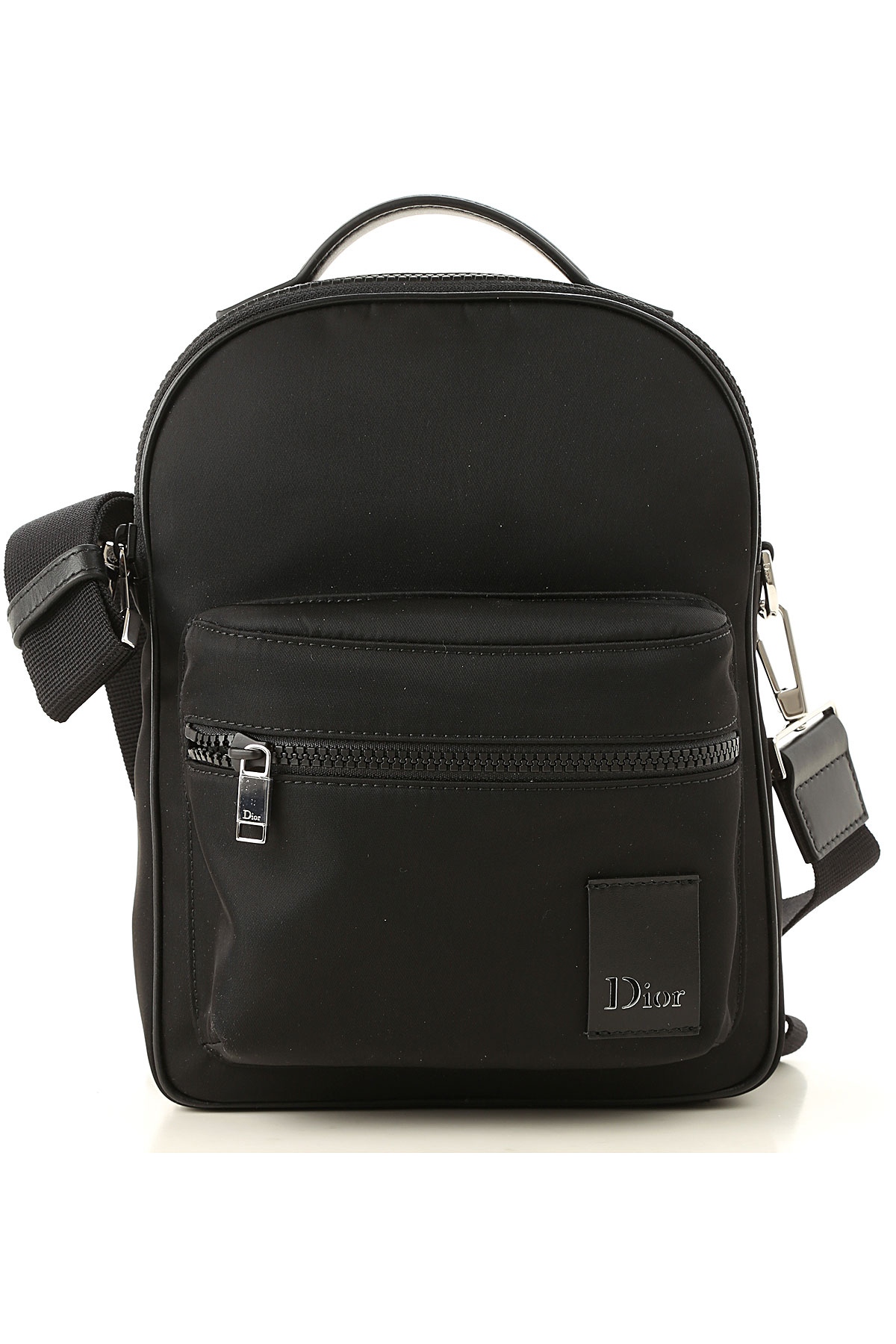 Image of Christian Dior Backpack for Men, Black, Fabric, 2017, one size