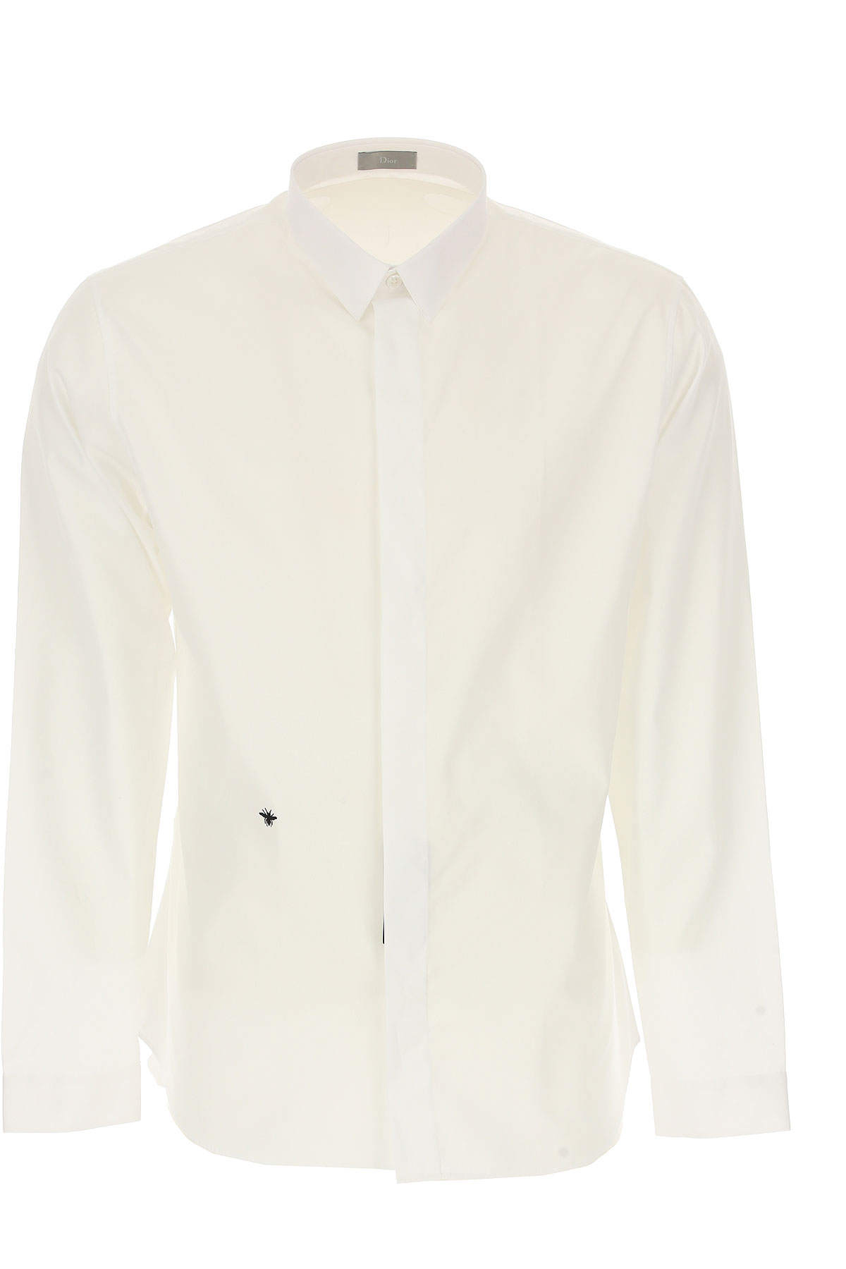 Christian Dior Chemise Homme, Blanc, Coton, 2017, 39 41