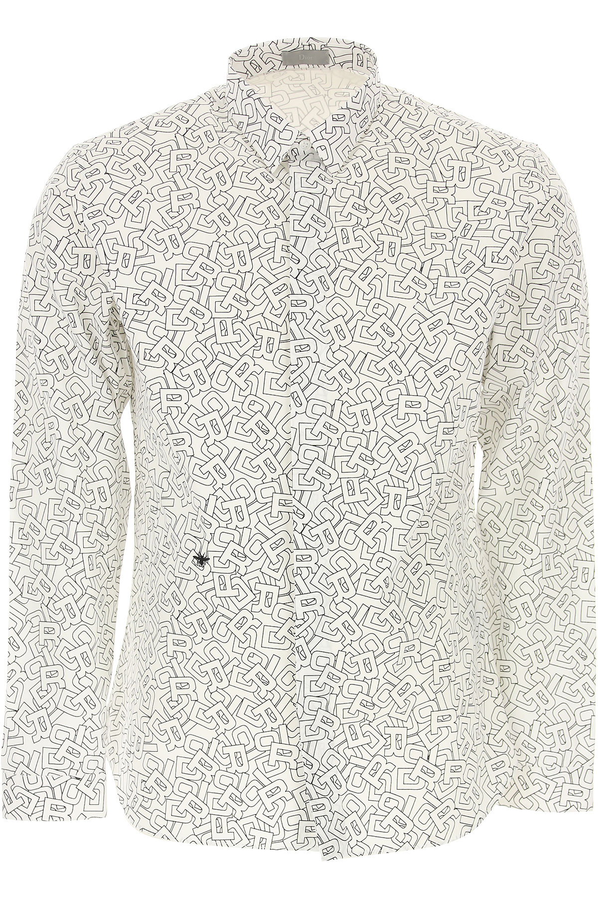Christian Dior Chemise Homme, Blanc, Coton, 2017, 39 40 41 42