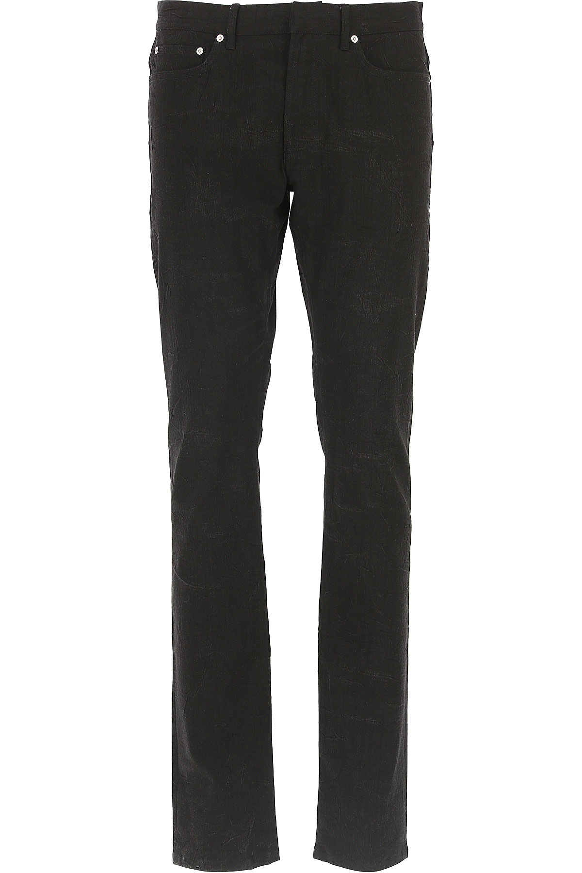 Christian Dior Jeans On Sale in Outlet, Black, Cotton, 2019, 32 33