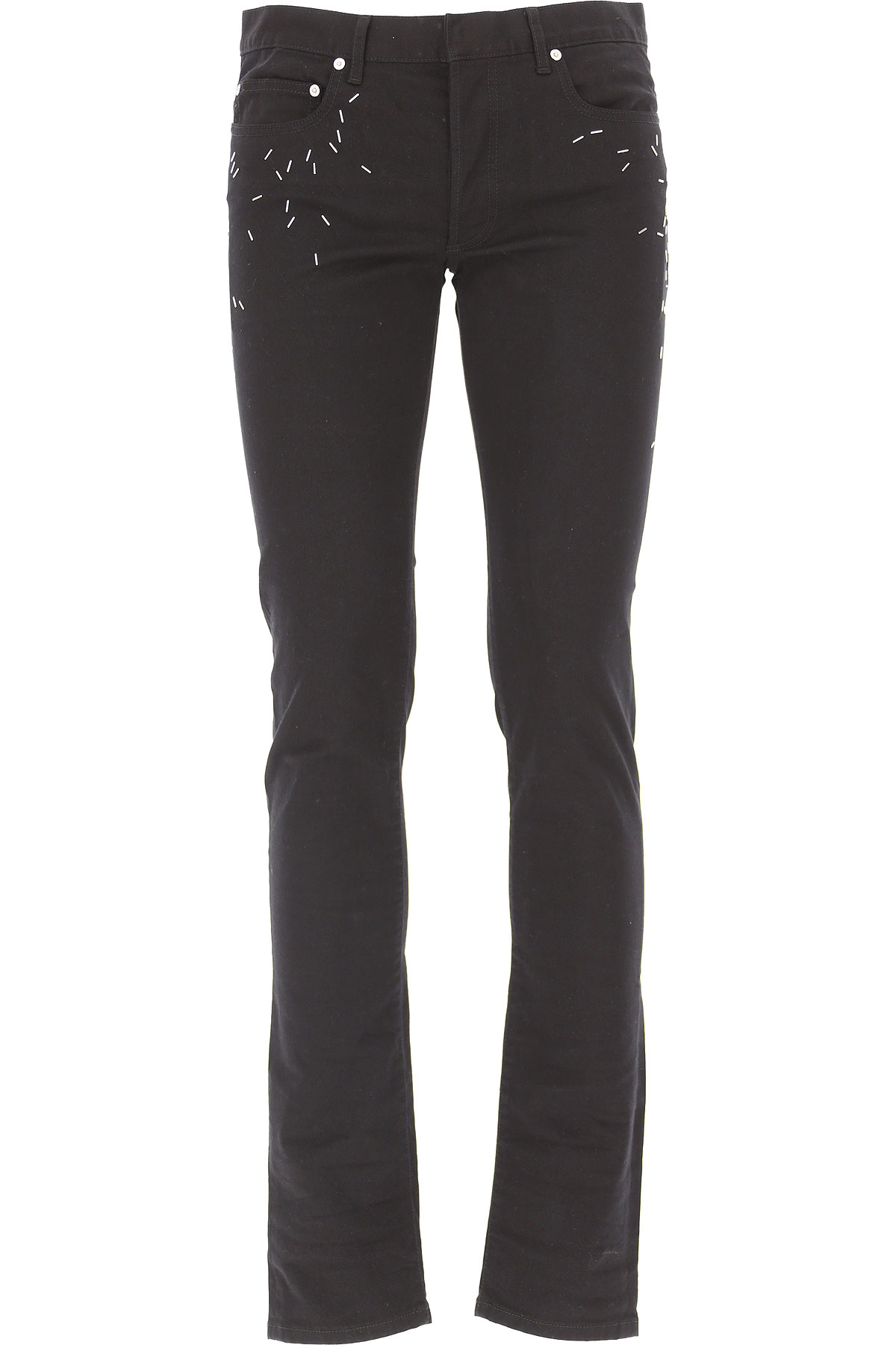Christian Dior Jeans On Sale in Outlet, Black, Cotton, 2017, 31 32
