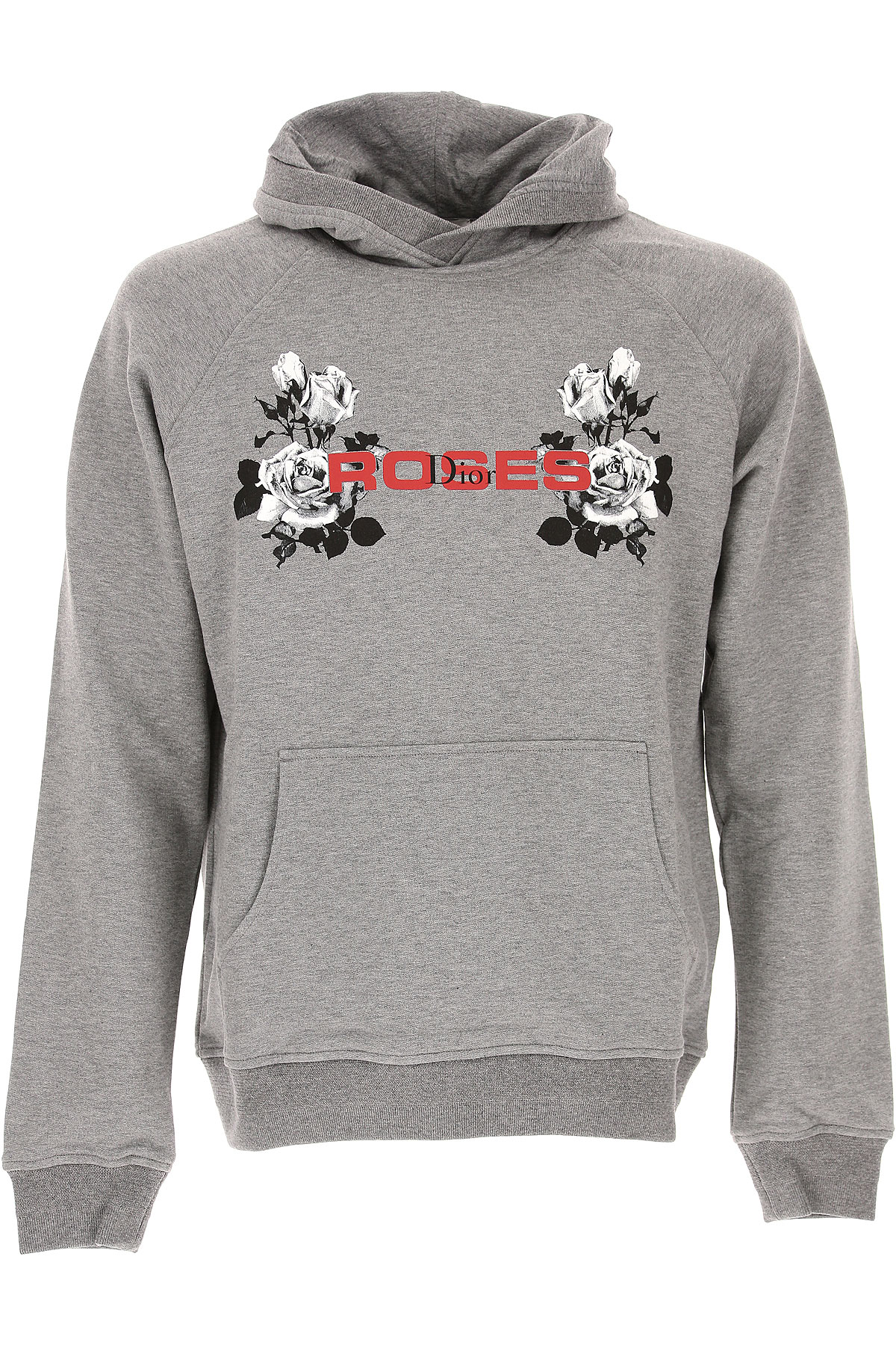 Christian Dior Sweatshirt for Men On Sale, Medium Grey, Cotton, 2017, L M S XL USA-458965