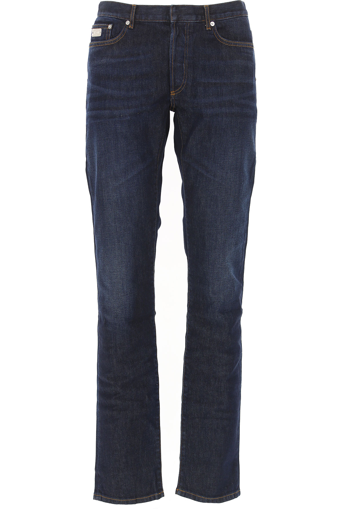 Christian Dior Jeans On Sale in Outlet, Blue Marine, Cotton, 2019, 31 33