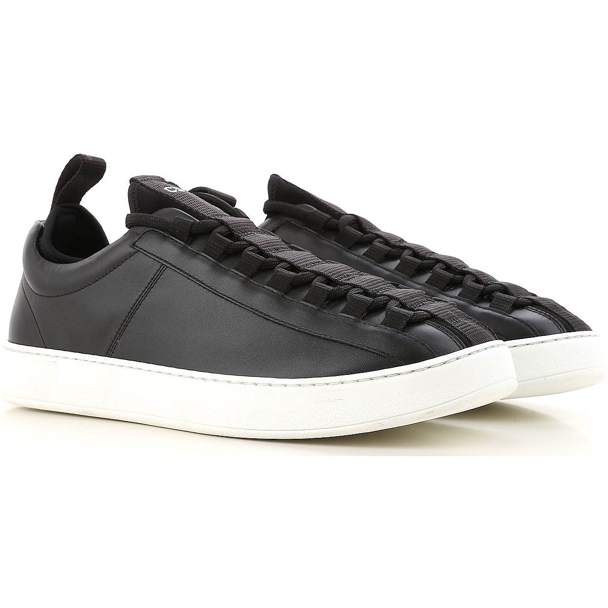 Image of Christian Dior Slip on Sneakers for Men On Sale in Outlet, Black, Leather, 2017, 6.5 7.5 8.5 9.5