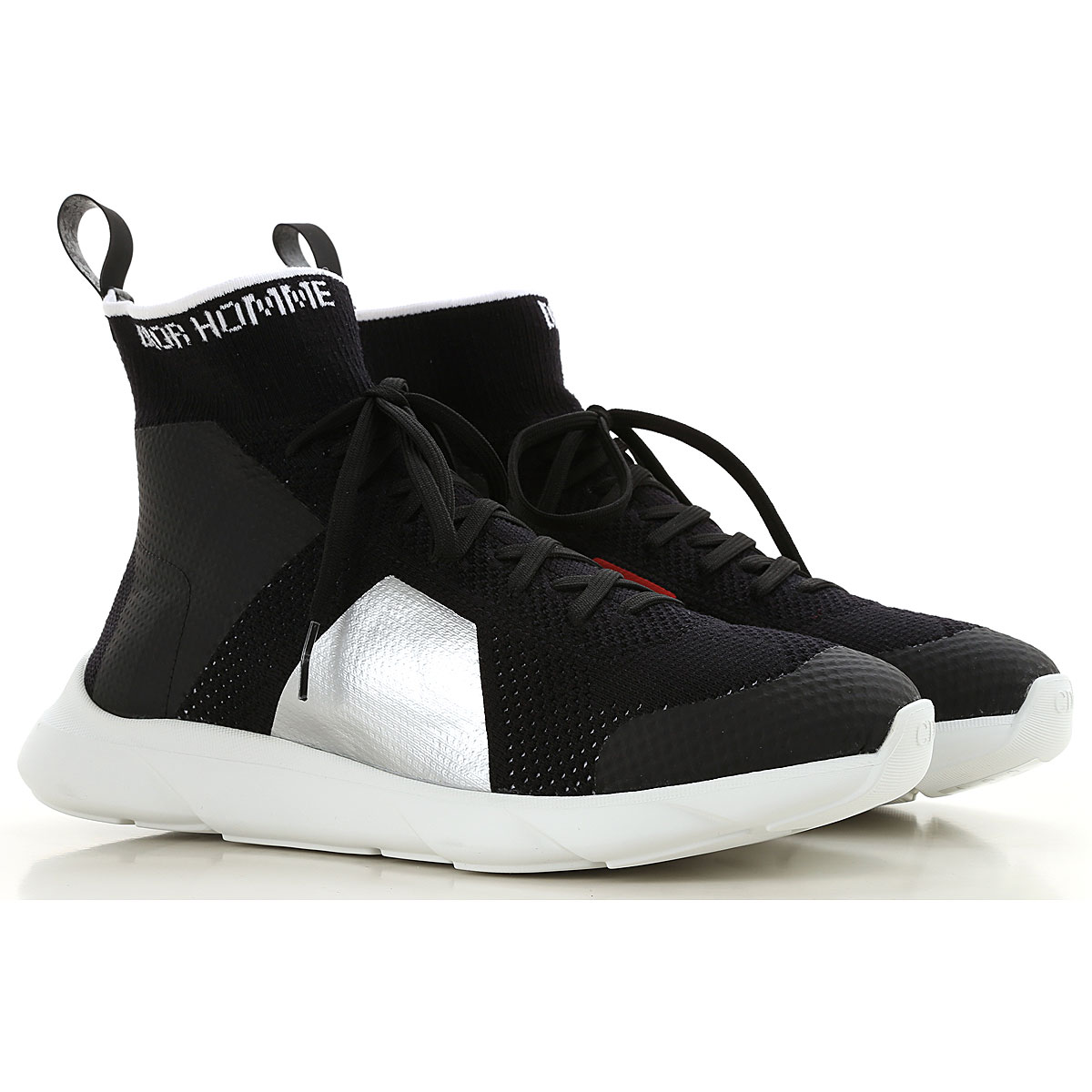 Christian Dior Sneakers for Men On Sale, Black, Knitted, 2019, 10 10.5 8 9