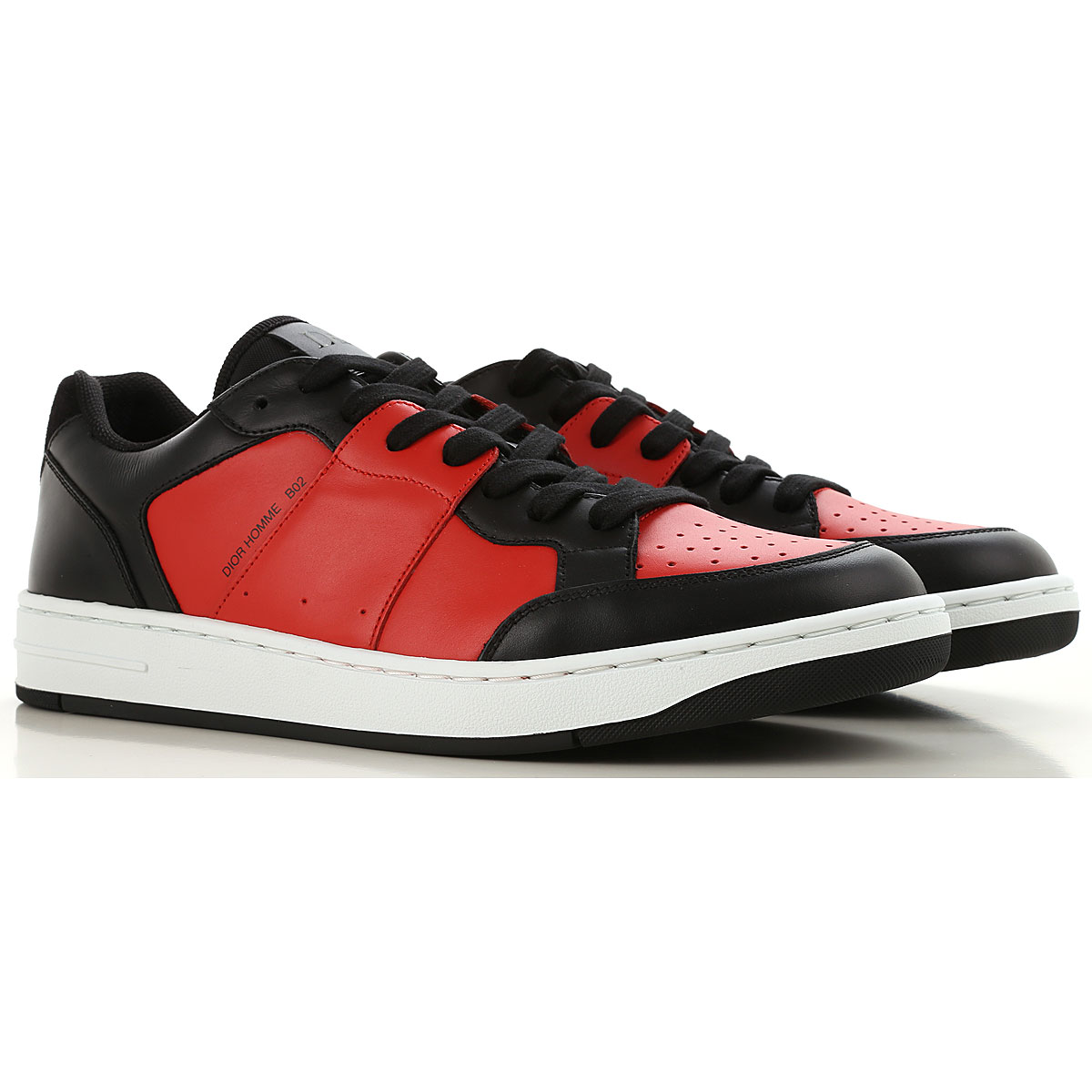 Christian Dior Sneakers for Men On Sale, Orange, Leather, 2019, 8 8.5