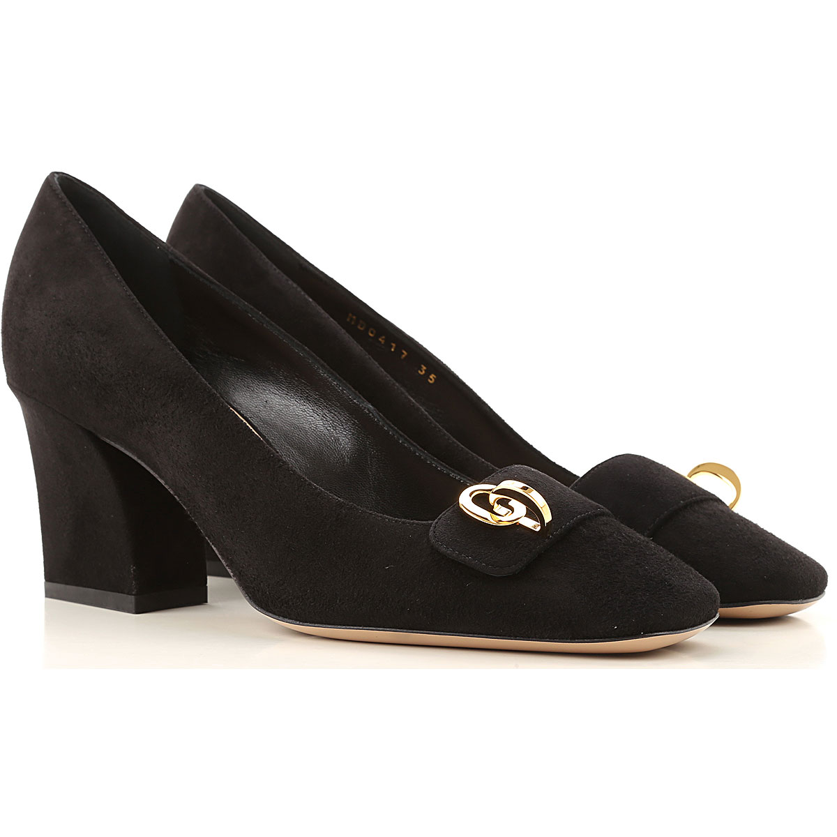 Christian Dior Pumps & High Heels for Women On Sale, Black, Suede leather, 2019, 10 5 6 9