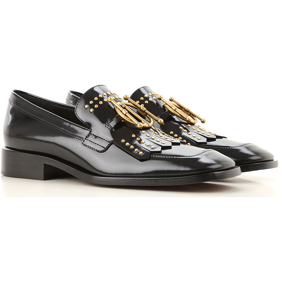 Christian Dior Loafers for Women On Sale, Black, Leather, 2019, 8.5 9