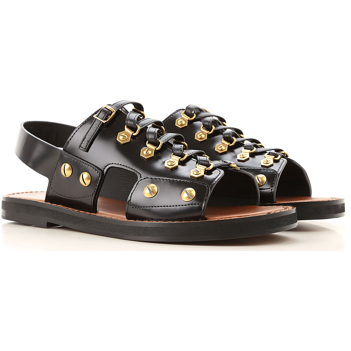 Christian Dior Sandals for Women On Sale, Black, Leather, 2019, 10 7 8 8.5 9