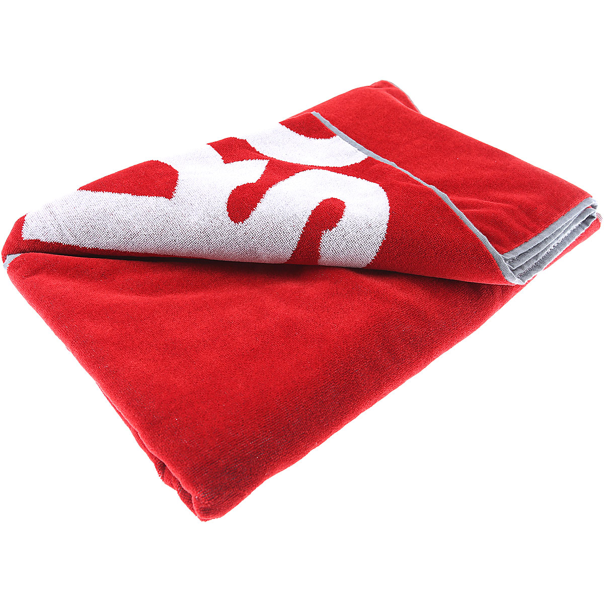 Dsquared2 Beach Towel On Sale, Red, Cotton, 2019