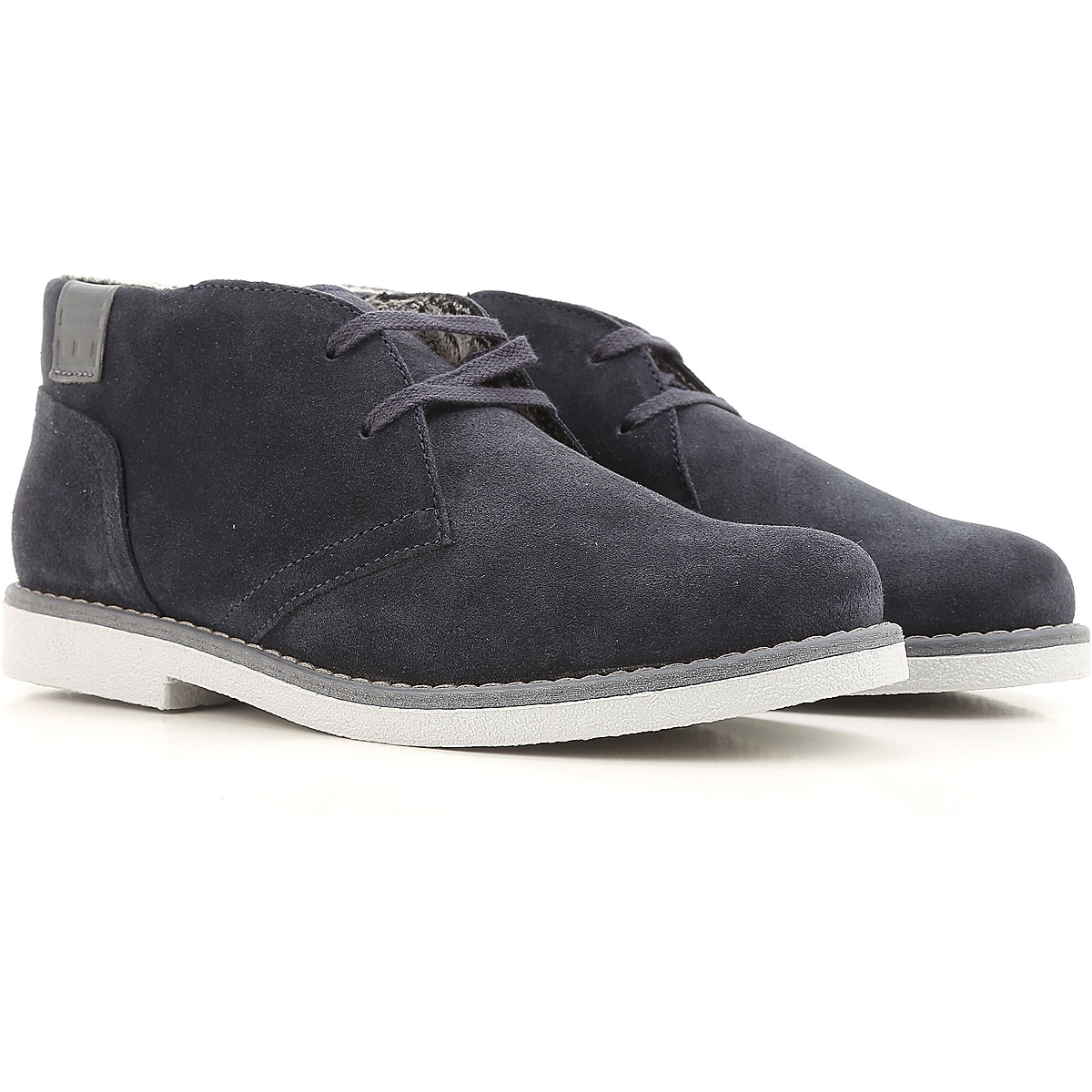 Dirk Bikkembergs Kids Shoes for Boys On Sale in Outlet, Blue, suede, 2019, 28 30 33
