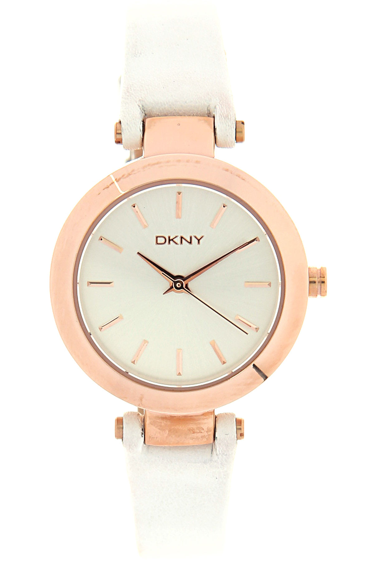 Image of Donna Karan Watch for Women, White, Leather, 2017