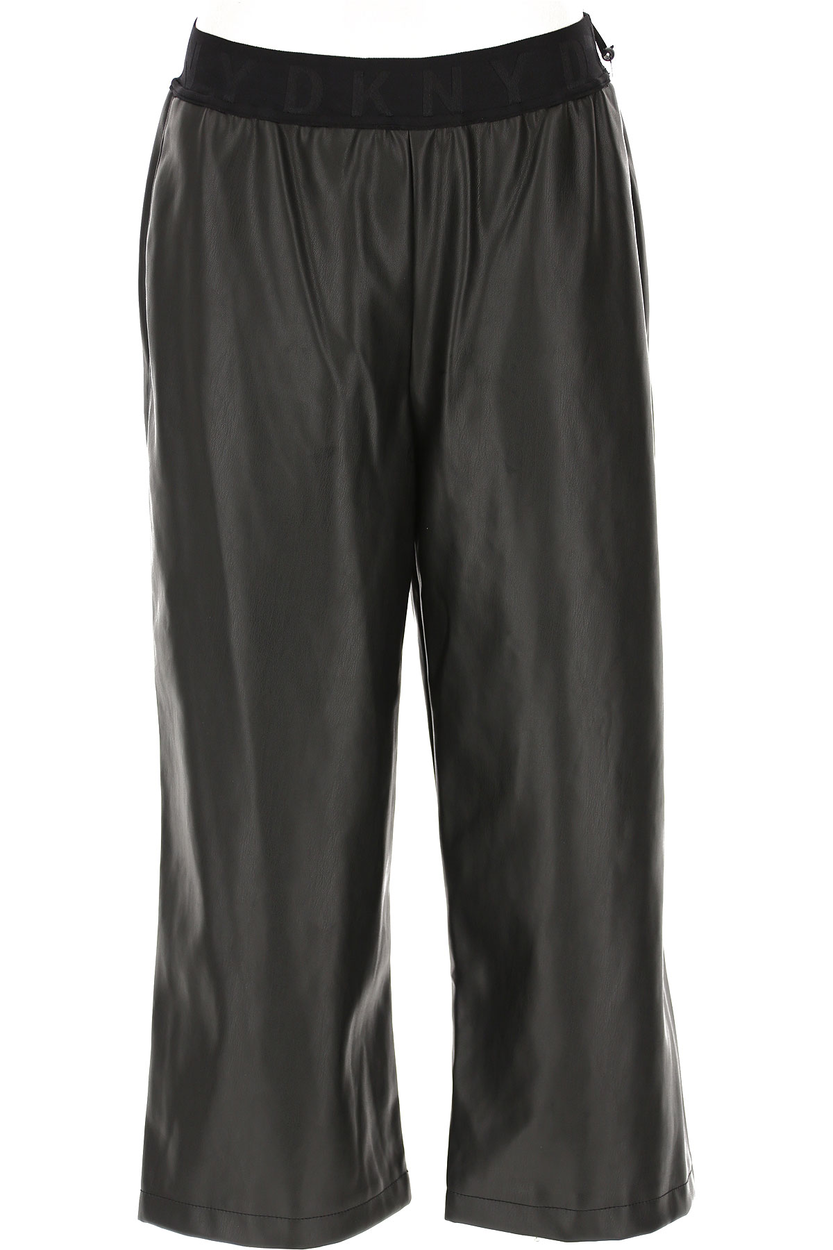 DKNY Pants for Women, Black, polyurethane, 2019, 2 4 6