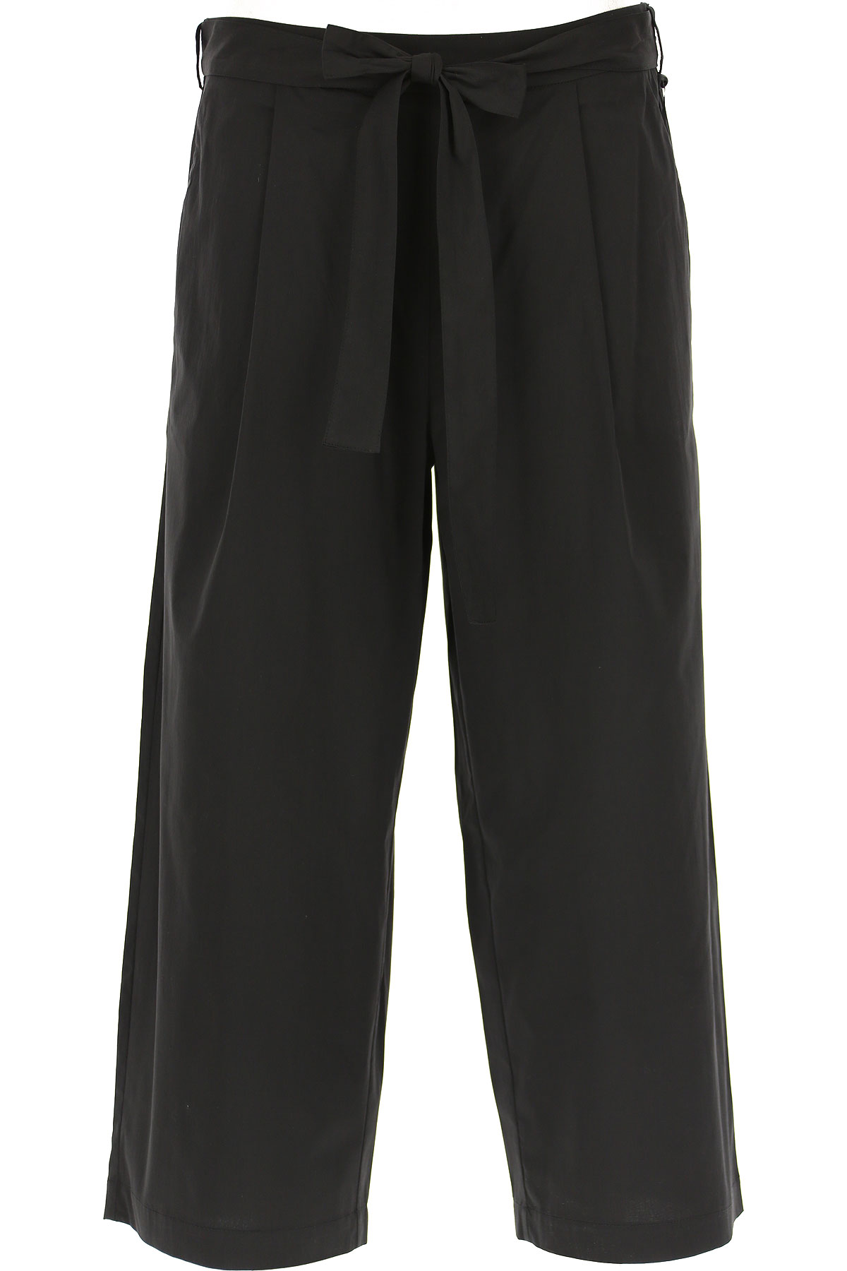 DKNY Pants for Women On Sale, Black, Cotton, 2019, 2 4 6