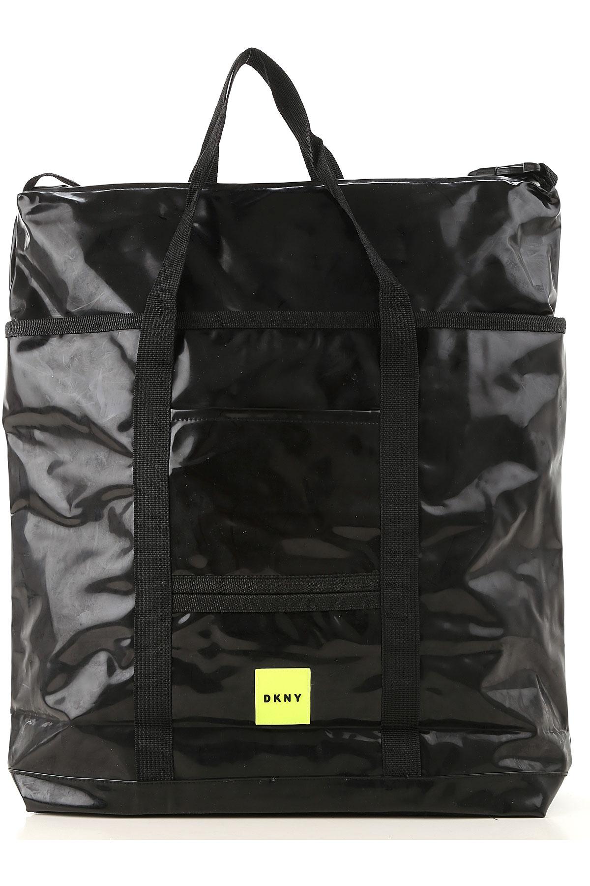 DKNY Girls Handbag On Sale, Black, polyurethane, 2019