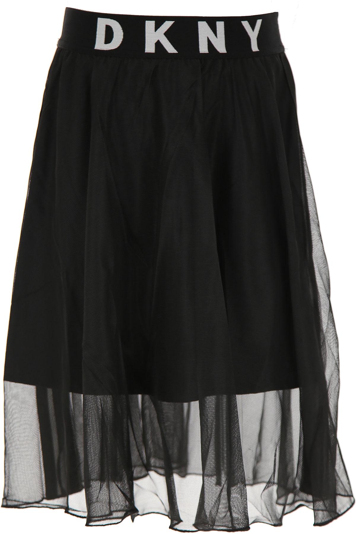 DKNY Kids Shirts for Girls On Sale, Black, polyester, 2019, 10Y 10Y 12Y 14Y 14Y 16Y 8Y 8Y