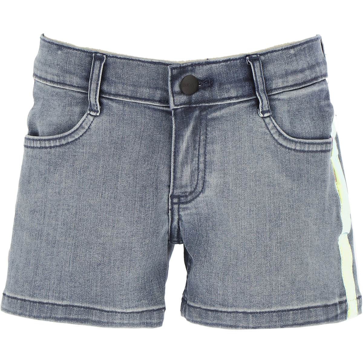 DKNY Kids Shorts for Girls On Sale, Blue Denim, Cotton, 2019, 10Y 14Y 16Y