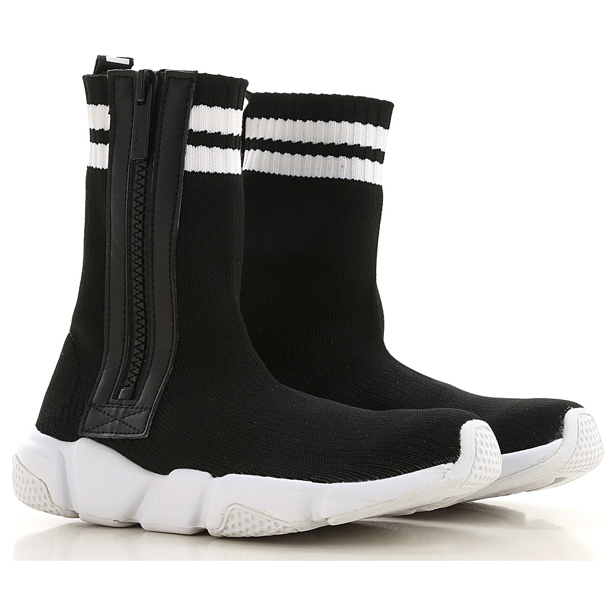 DKNY Kids Shoes for Boys On Sale, Blac, Fabric, 2019, 27 28 29 30 31 32 33 34 35