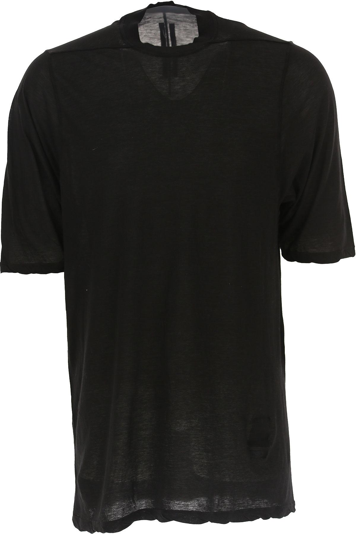 Rick Owens DRKSHDW T-Shirt for Men On Sale in Outlet, Black, Black, 2019