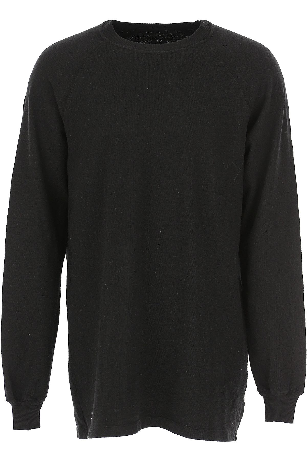 Rick Owens DRKSHDW Mens Clothing On Sale in Outlet, Black, Cotton, 2019, L M