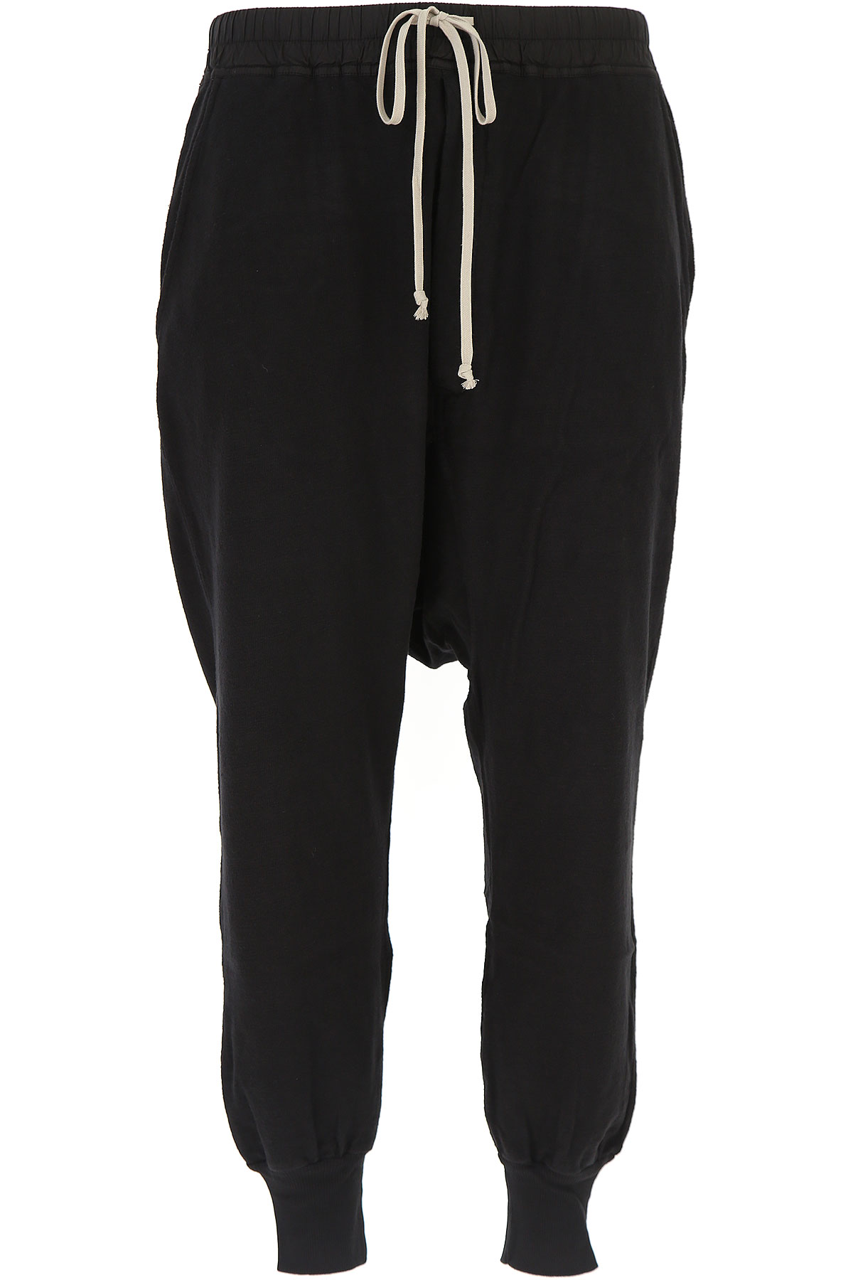 Image of Rick Owens DRKSHDW Mens Clothing, Black, Cotton, 2017, L M S XL