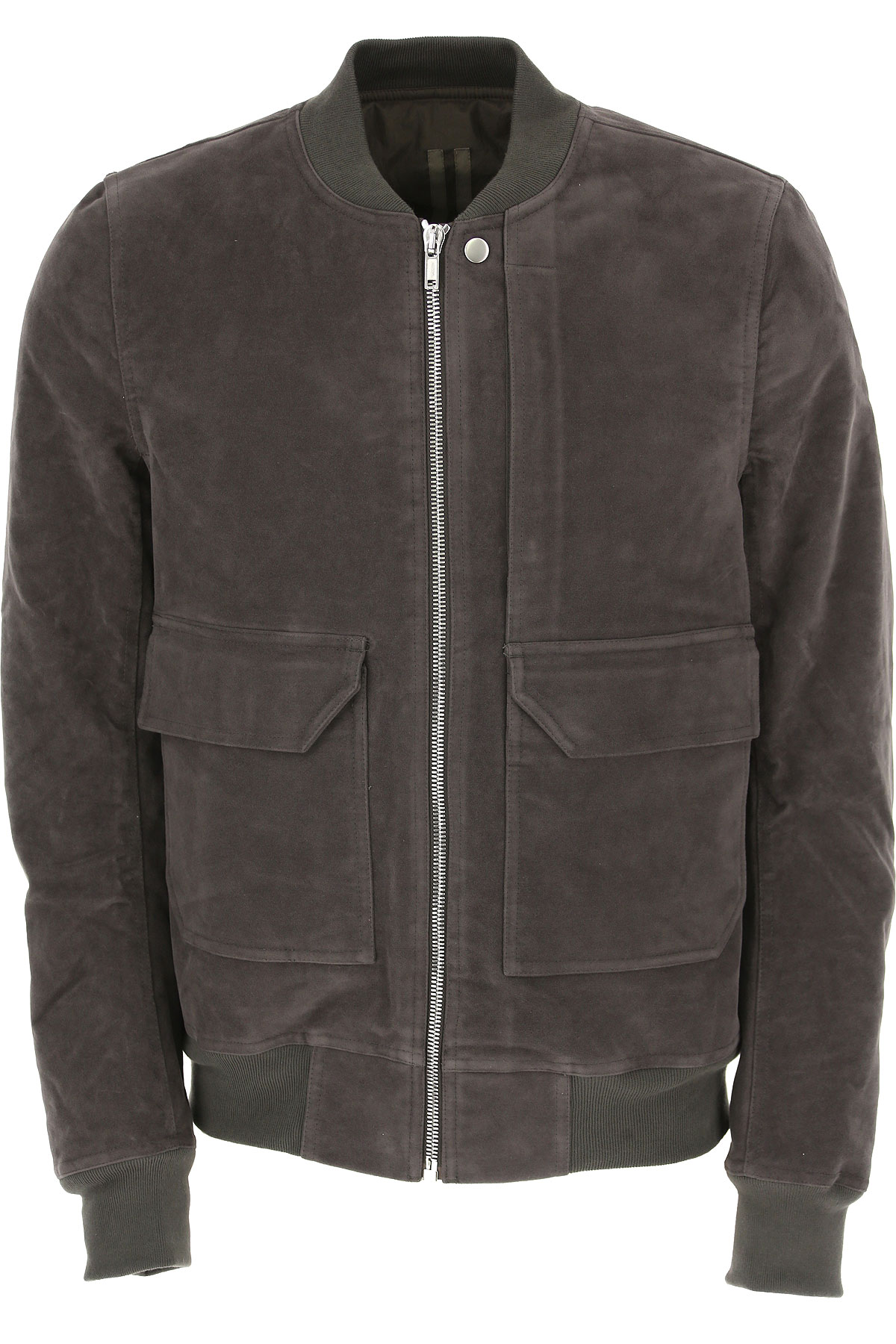 Image of Rick Owens DRKSHDW Jacket for Men, Dark Dust, Cotton, 2017, L S XL