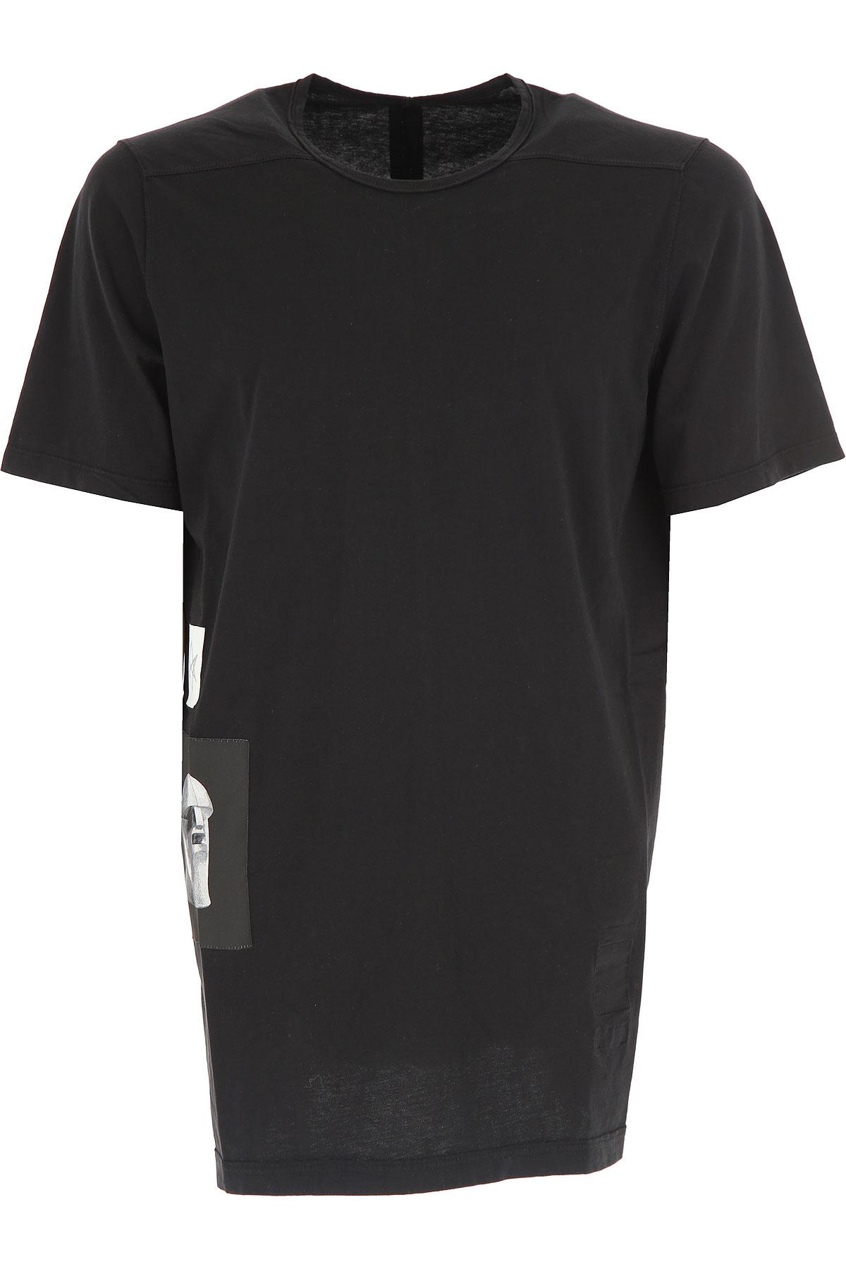 Rick Owens DRKSHDW T-Shirt for Men On Sale in Outlet, Black, Cotton, 2019, L M