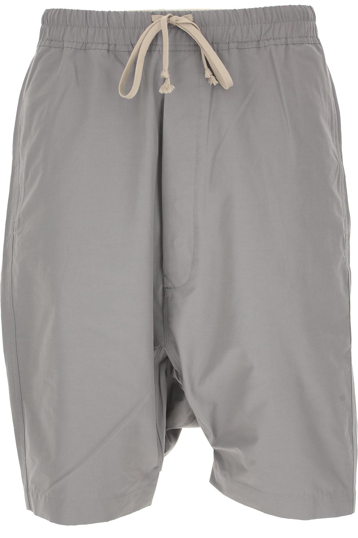 Rick Owens DRKSHDW Pants for Men On Sale in Outlet, Grey, Cotton, 2019, L (EU 50) M (EU 48)