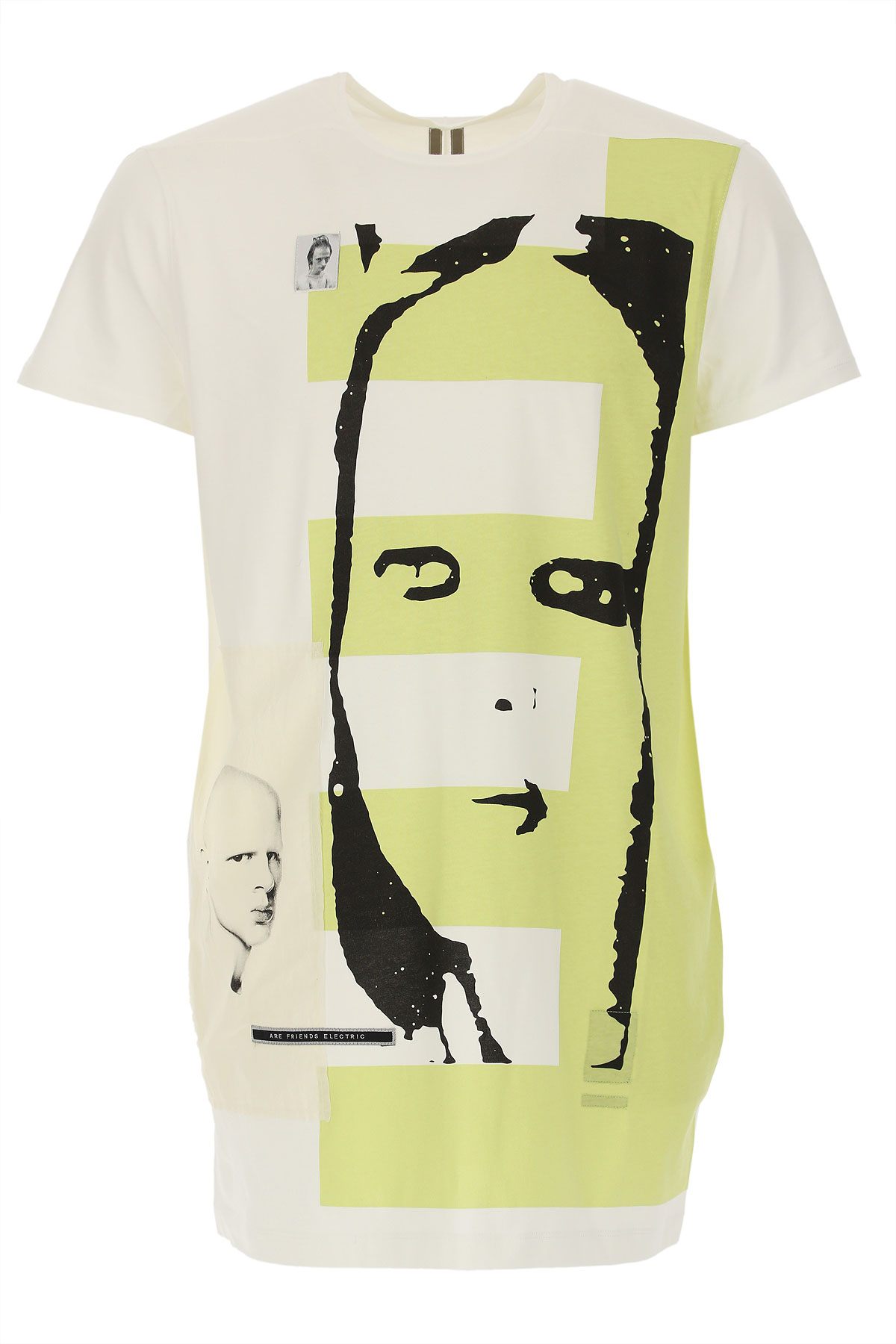 Rick Owens DRKSHDW T-Shirt for Men On Sale in Outlet, Black, Cotton, 2019, L M S