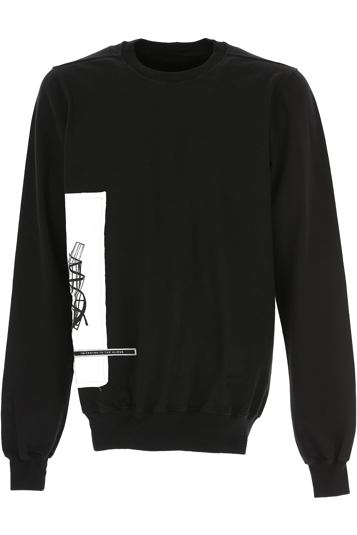 Rick Owens DRKSHDW T-Shirt for Men On Sale in Outlet, Black, Cotton, 2019, L M S XL