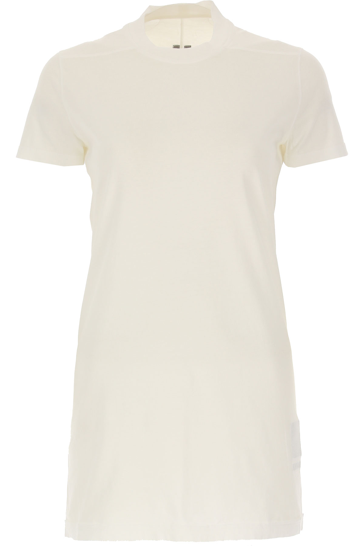 Rick Owens DRKSHDW T-Shirt for Women On Sale, White, Cotton, 2019, 2 4